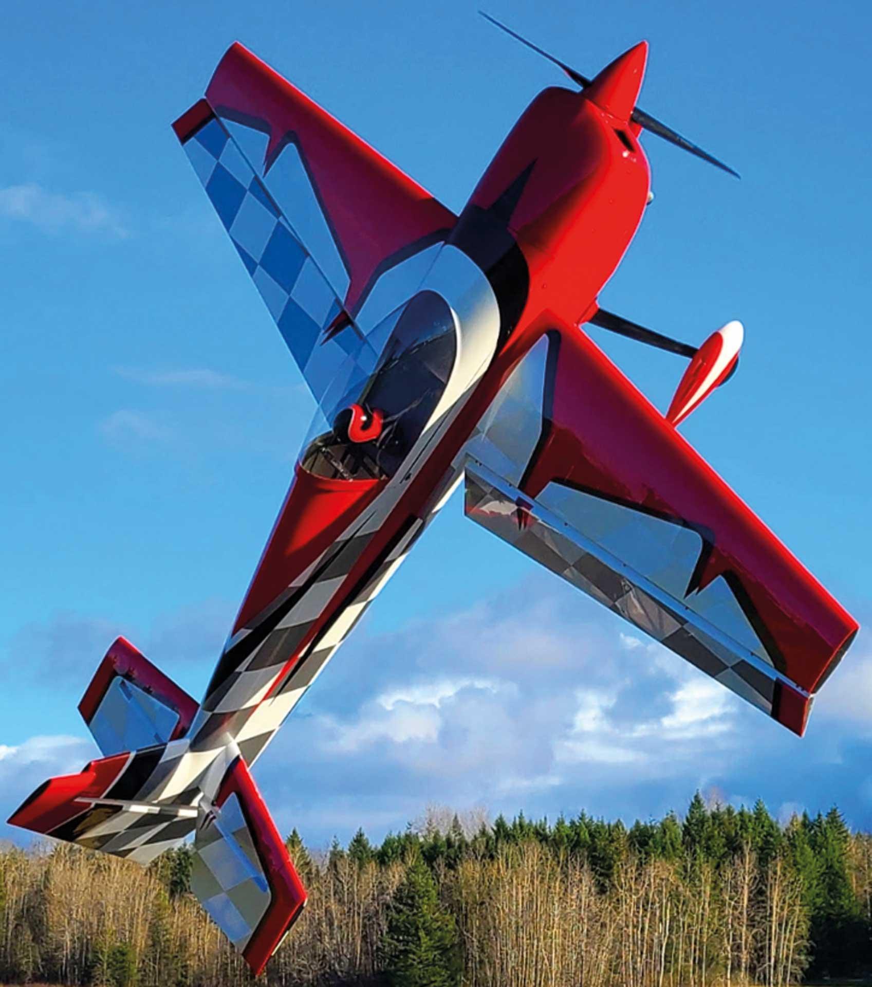 "EXTREMEFLIGHT-RC SLICK 114"" Rot/Weiss ARF"
