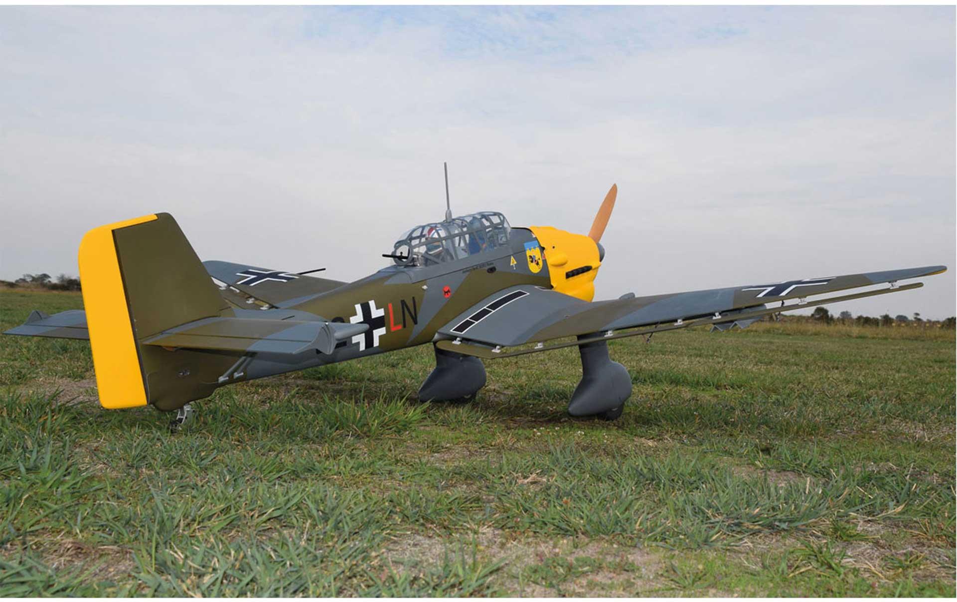 SG-MODELS JU-87 STUKA ARF WARBIRD