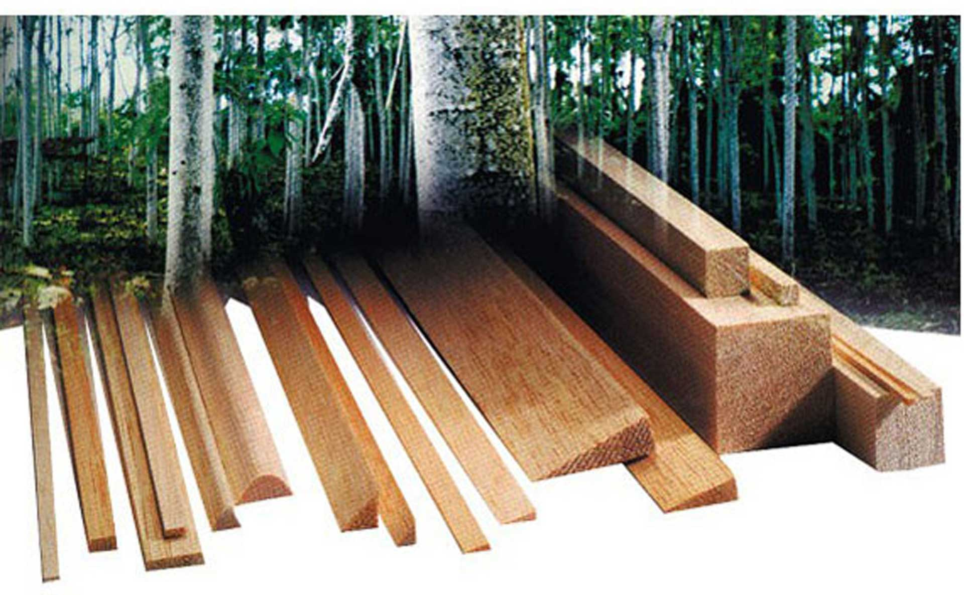 AIGNER BALSA PINE BAR 13/1,5MM/1M