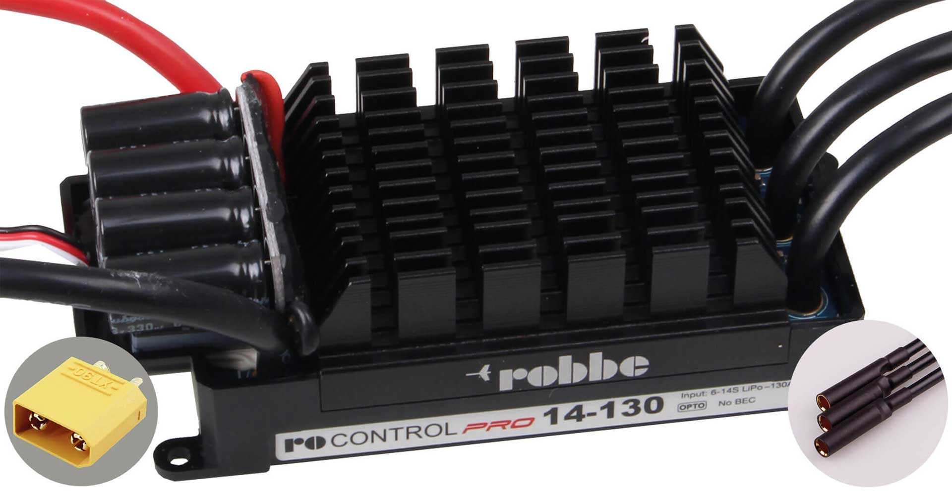 ROBBE RO-CONTROL PR0 14-130 6-14S -130(160)A BRUSHLESS CONTROLLER OPTO