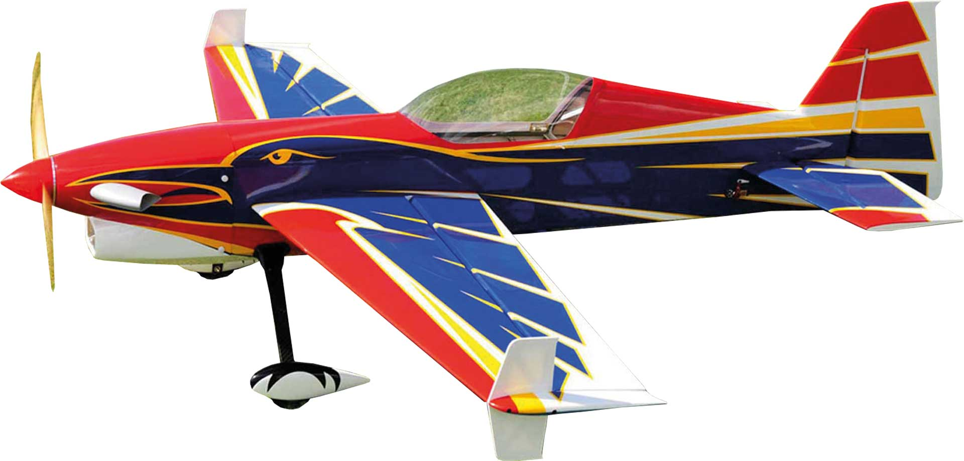 "EXTREMEFLIGHT-RC TURBO RAVEN EXP 69"" ARF ROT/BLAU"
