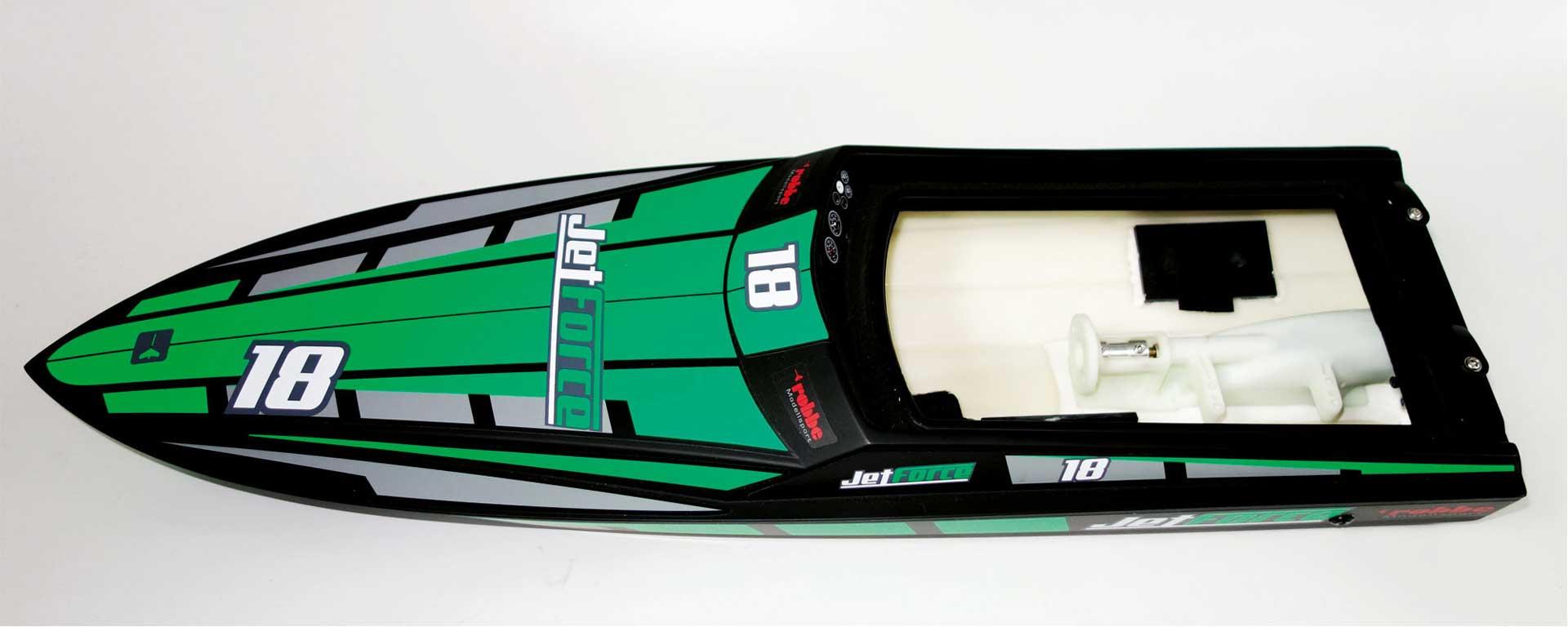 Robbe Modellsport Jet Force Rumpf mit Jet-Innenteil