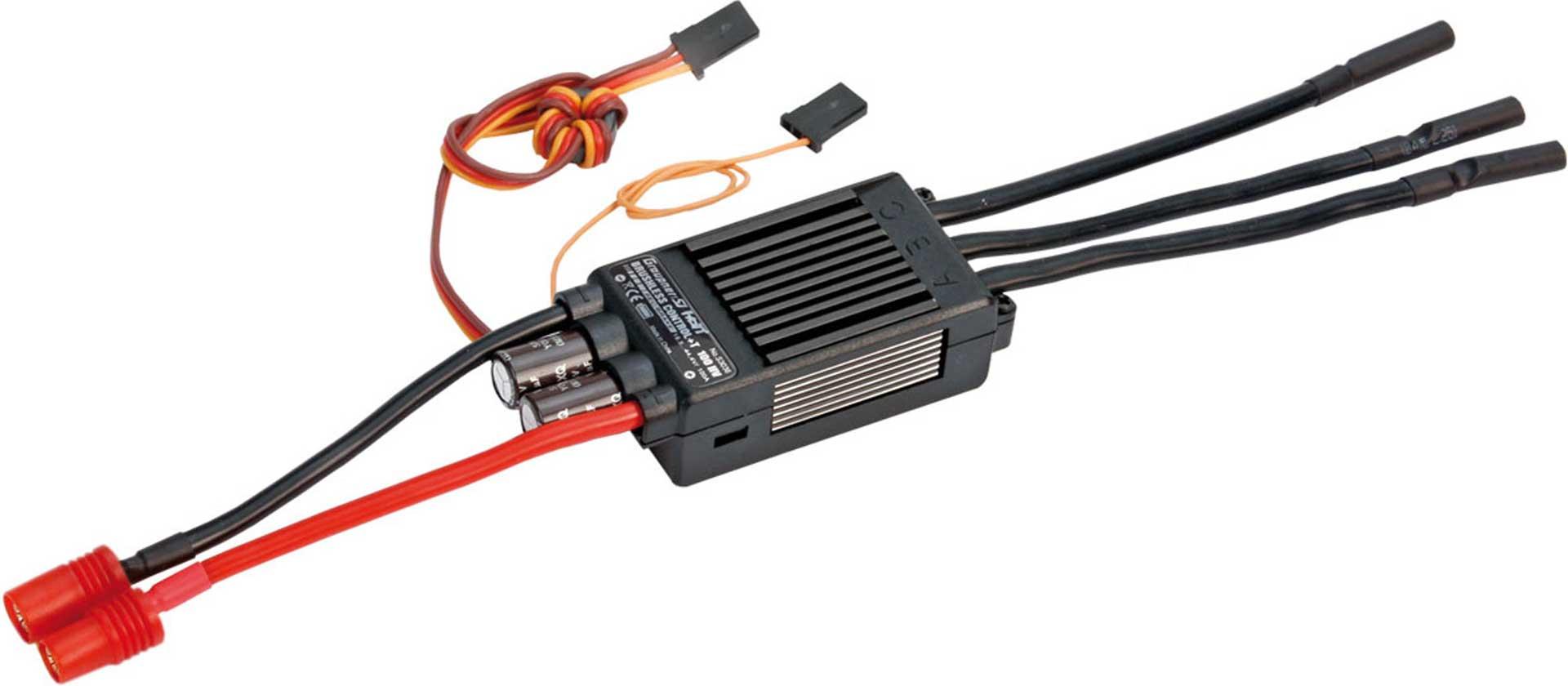 GRAUPNER BRUSHLESS CONTROL+ T 100 HV G6