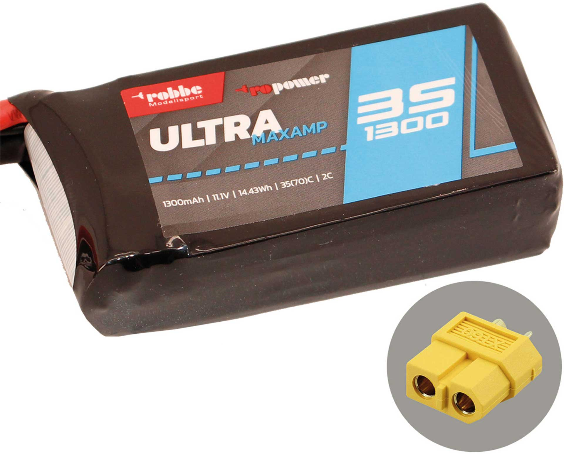 ROBBE RO-POWER ULTRA MAXAMP 1300MAH 11,1 VOLT