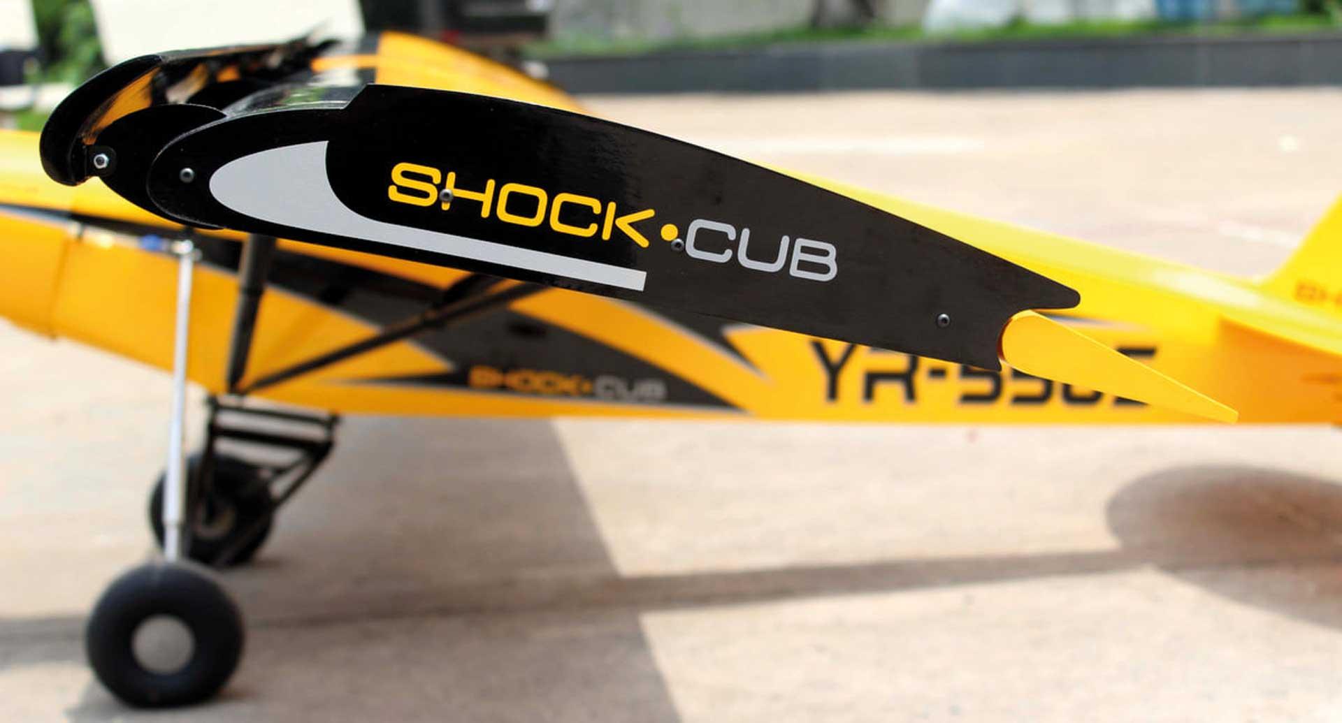 """Seagull Models ( SG-Models ) Shock Cub 38-50cc-102"""" Gelb"""