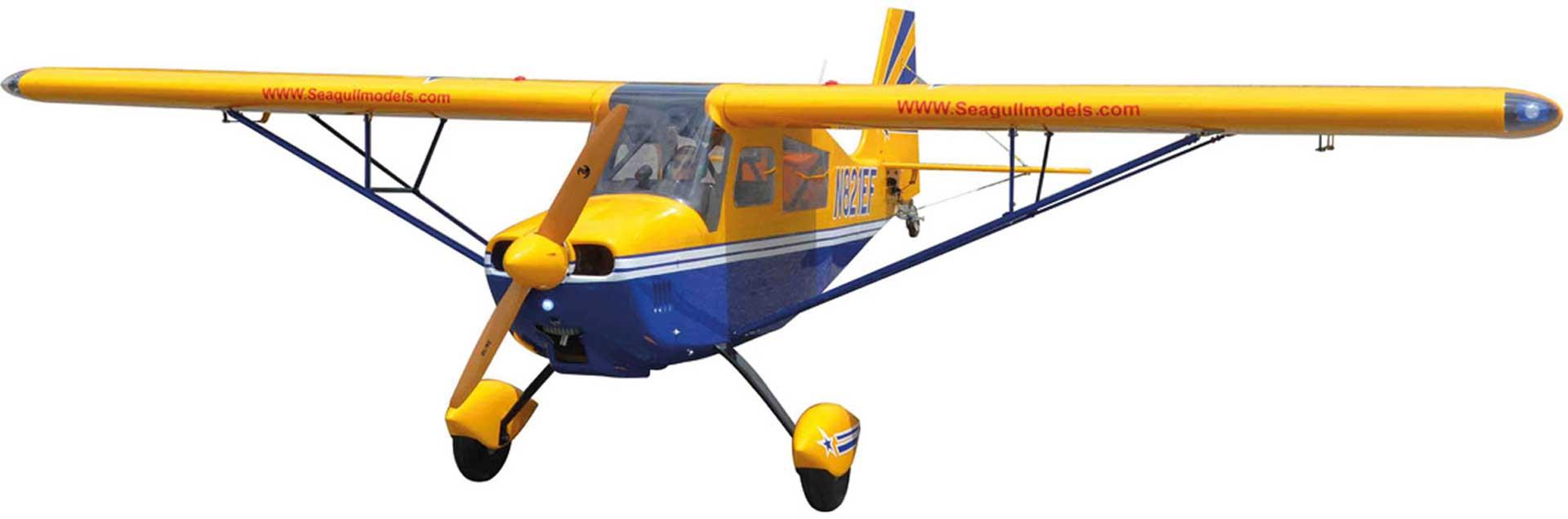 Seagull Models ( SG-Models ) DECATHLON 60-85CC 3D ARF GELB 3,1M