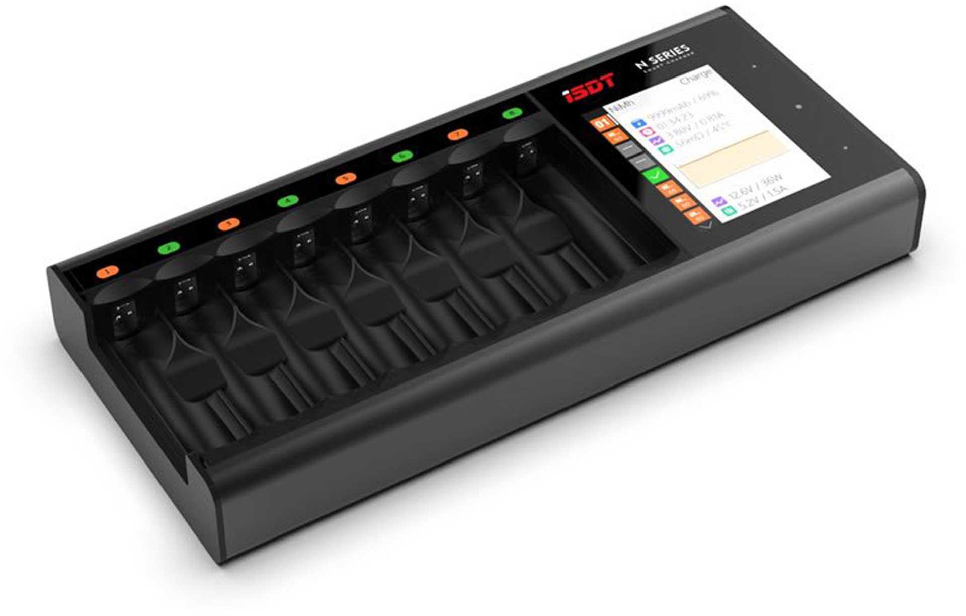 ISDT N8 8-FOLD SMART CHARGER LIXX/NIXX