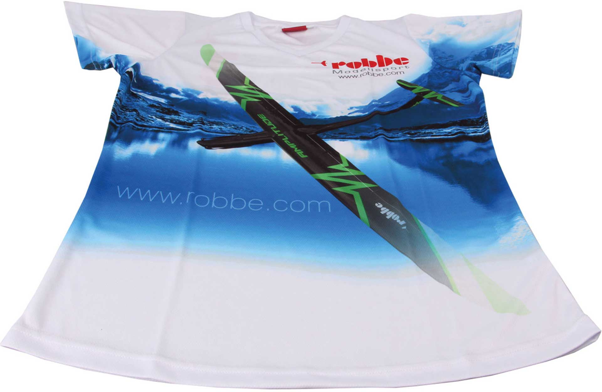 "Robbe Modellsport FUNKTIONS T-SHIRT ""AMPLITUDE"" ROBBE GRÖSSE M"