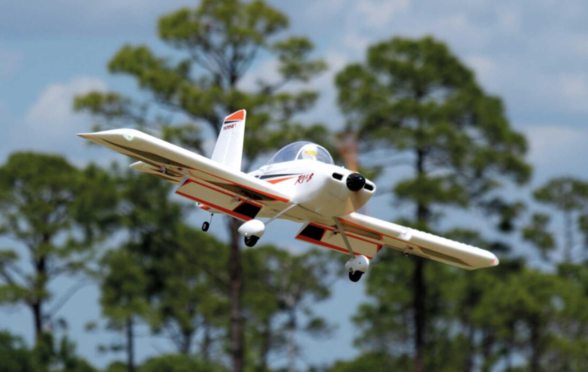 "PREMIER AIRCRAFT RV-8 10E Super PNP Orange/Schwarz ""NIGHT"""