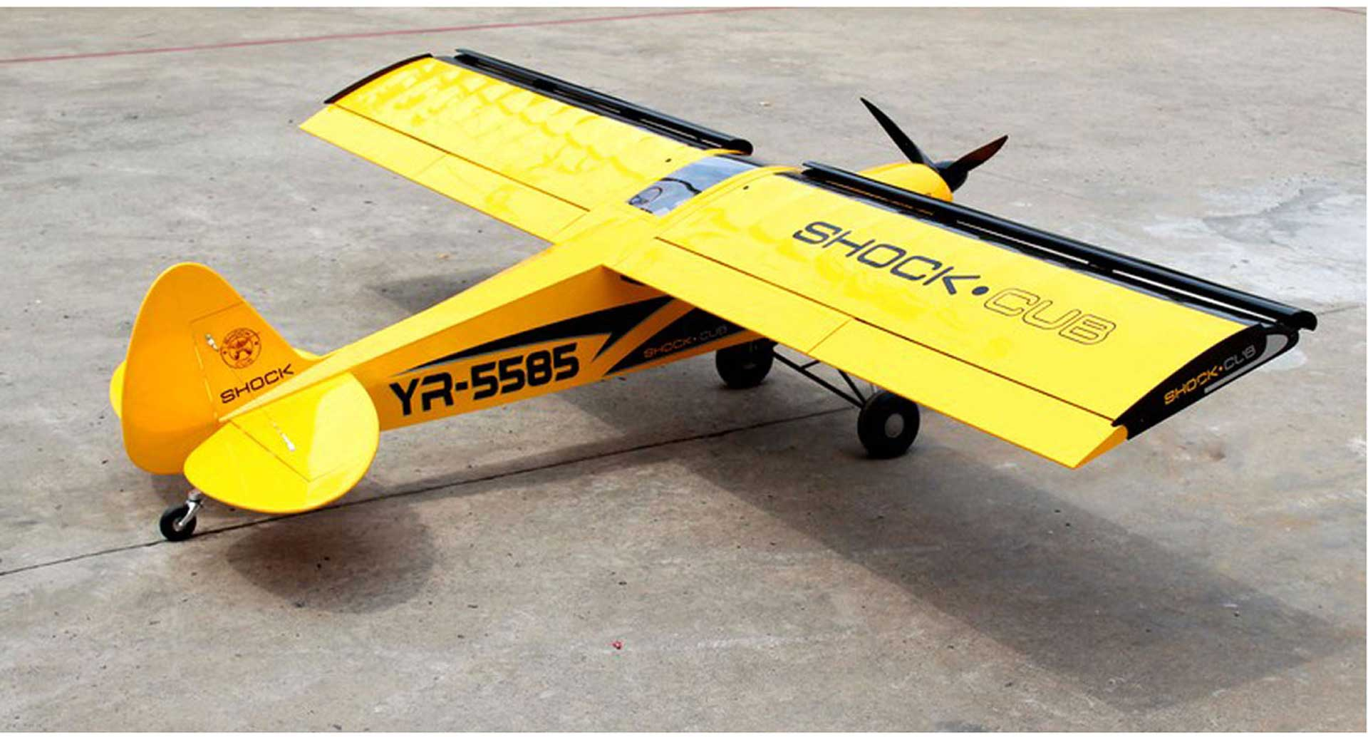"""SG-Models Shock Cub 38-50cc-102"""" Gelb"""