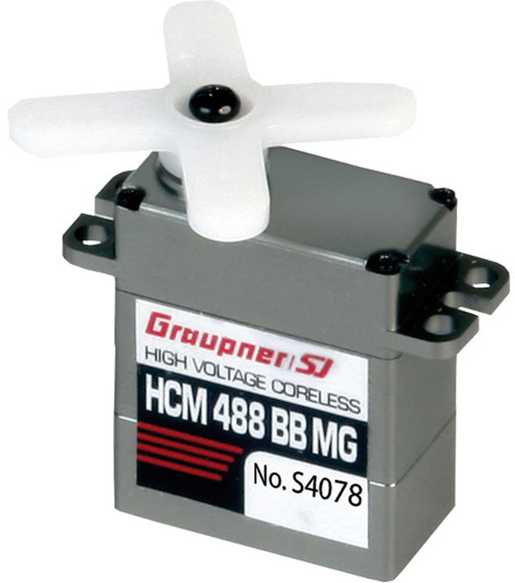 GRAUPNER HCM 488 BB MG High-Speed 12mm HV CL Digital Servo