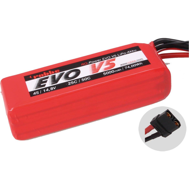 ROBBE RO-POWER EVO V5 25(50)C 14,8 VOLT 4S 5000MAH LIPO AKKU