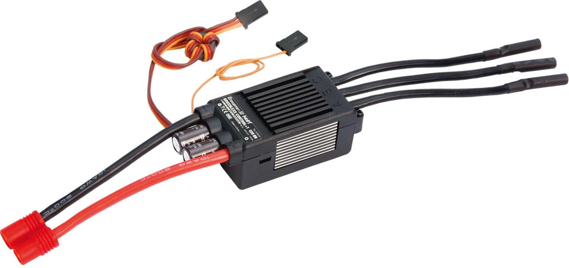 GRAUPNER BRUSHLESS ESC + T 120 HV G6