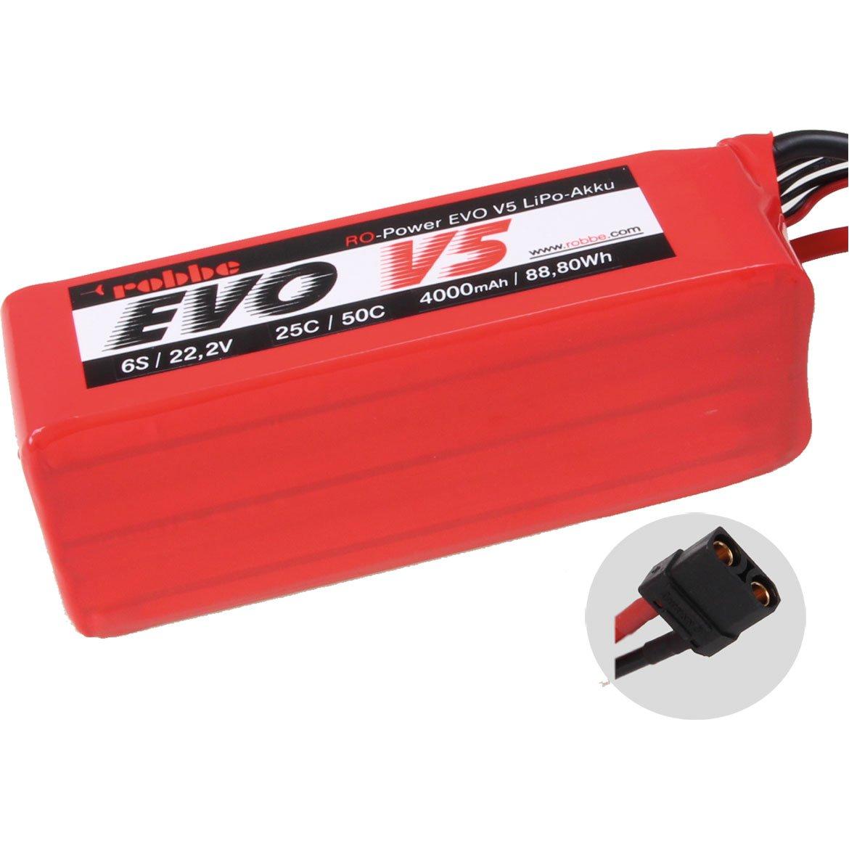 ROBBE RO-POWER EVO V5 25(50)C 22,2 VOLT 6S 4000MAH LIPO AKKU