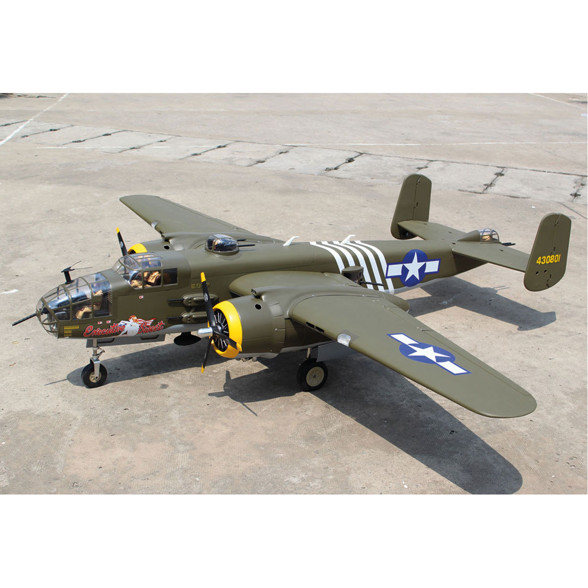 SG-MODELS B-25 MITCHELL GIANT SCALE ARF 2,4M