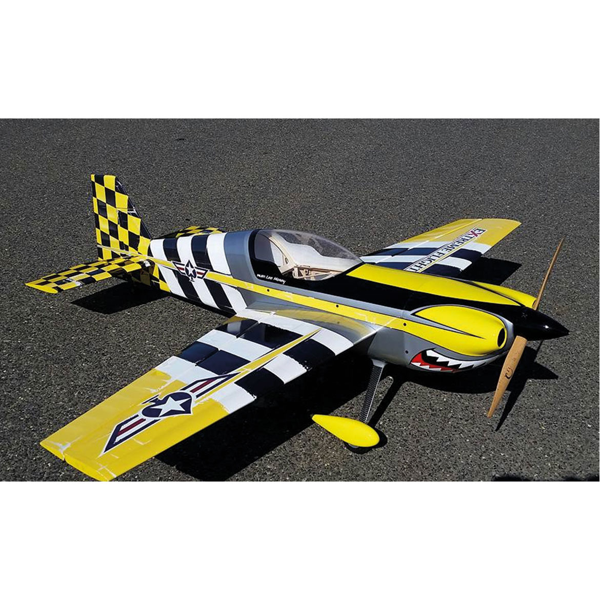 "EXTREMEFLIGHT-RC MXS EXP 76""(83"") ELECTRIC ""HEAVY METAL"" DESIGN ARF"