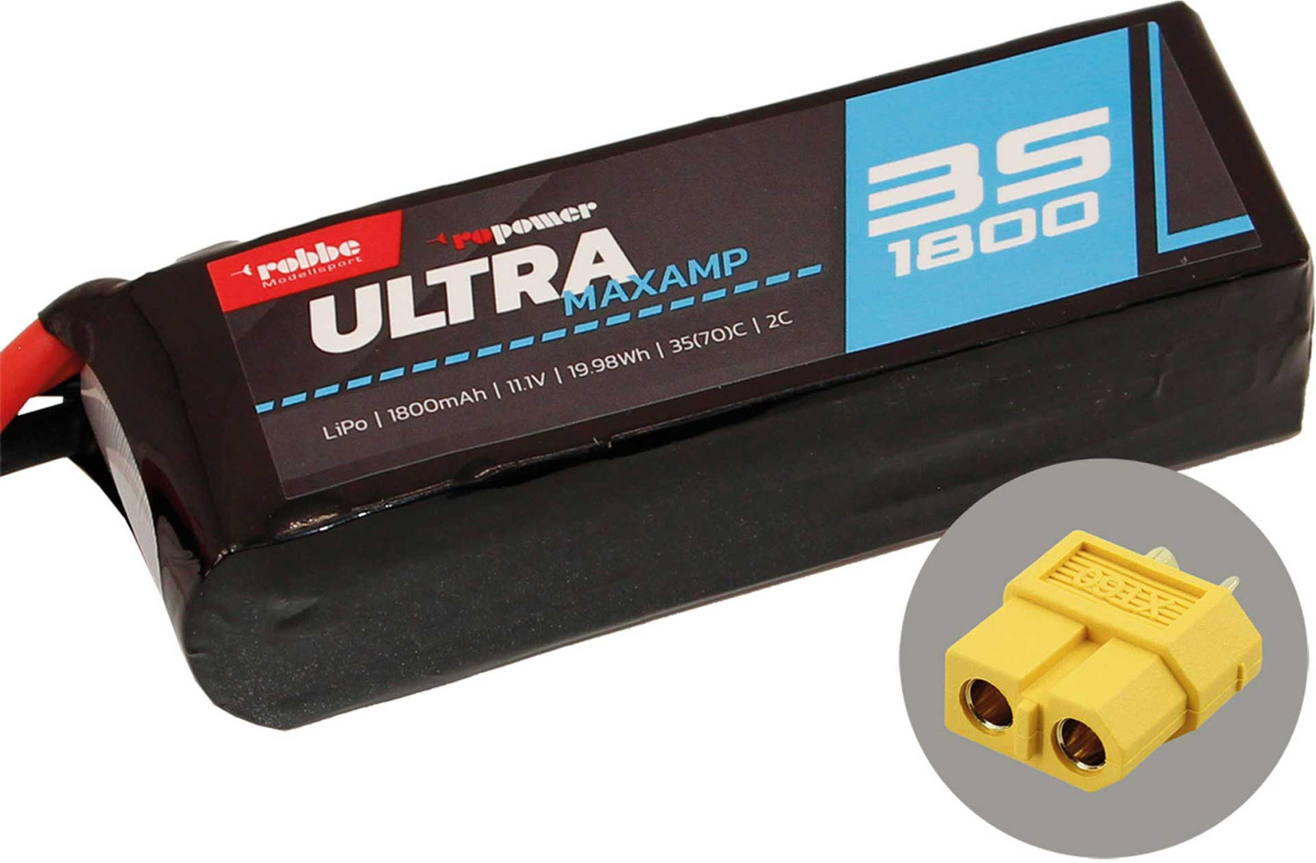 ROBBE RO-POWER ULTRA MAXAMP 1800MAH 11,1 VOLT
