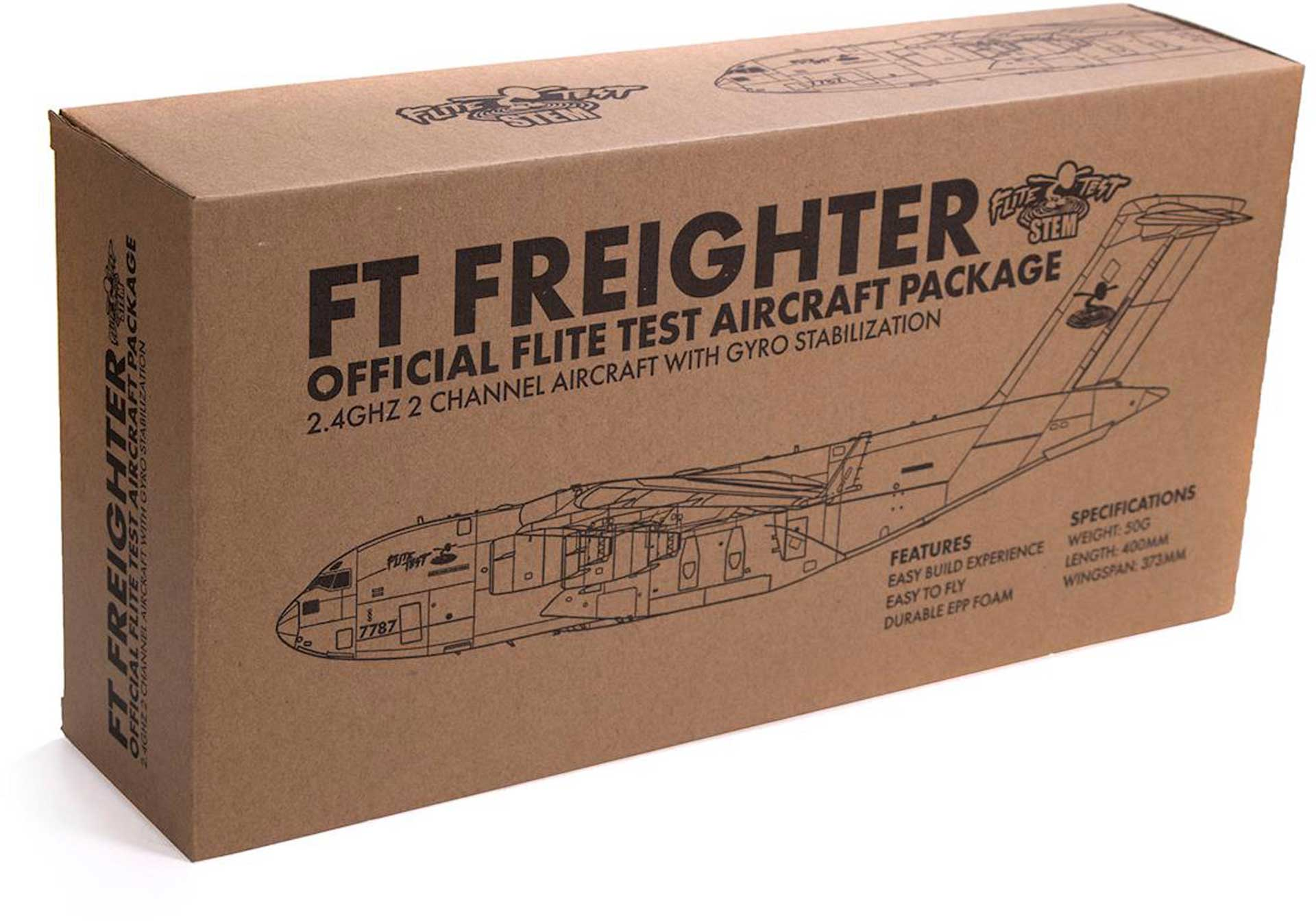 FLITE TEST MICRO FREIGHTER ELECTRIC RTF