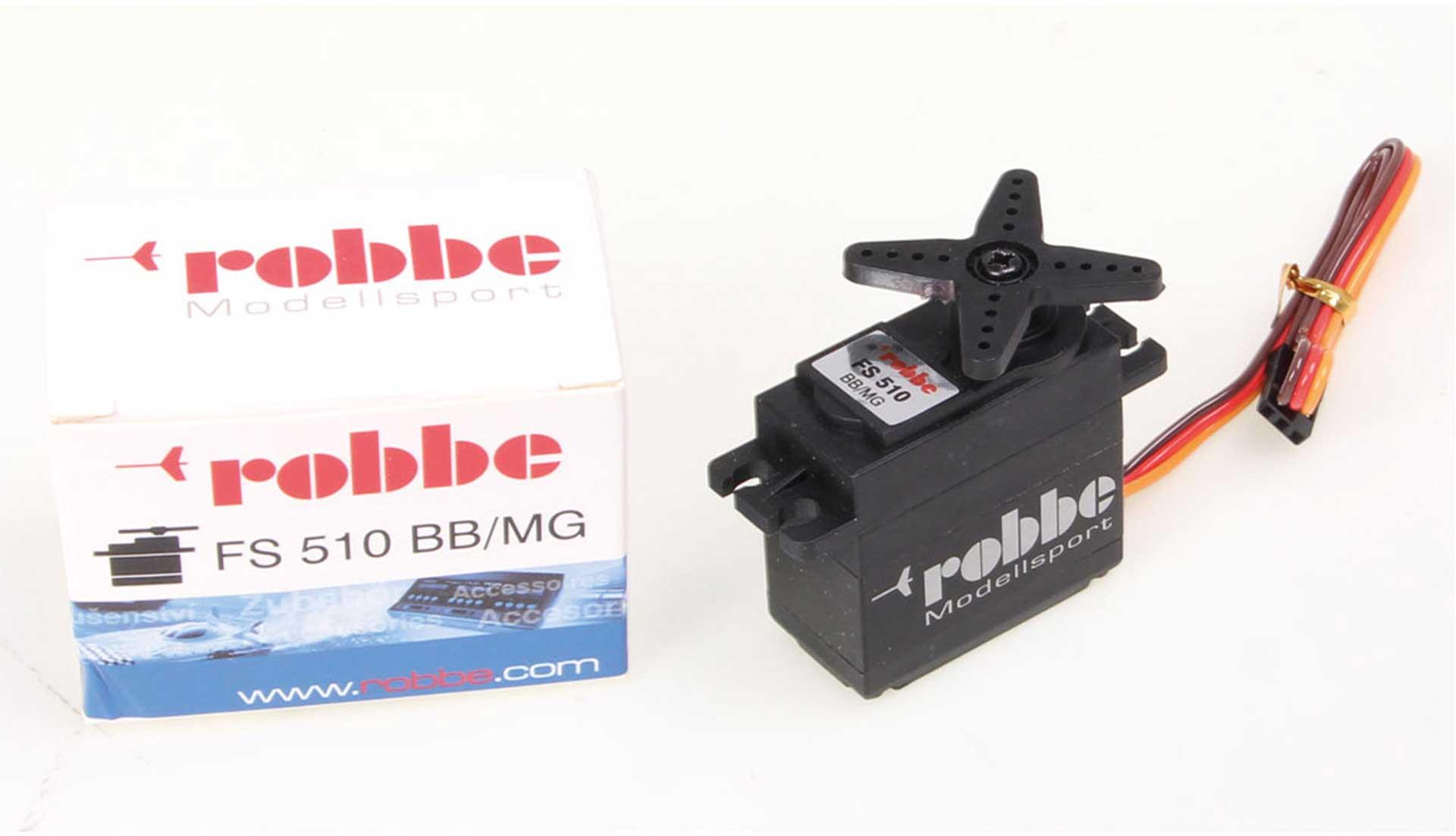 ROBBE FS 510 BB MG Servo mit Teil- Aluminium Gehäuse, Digital