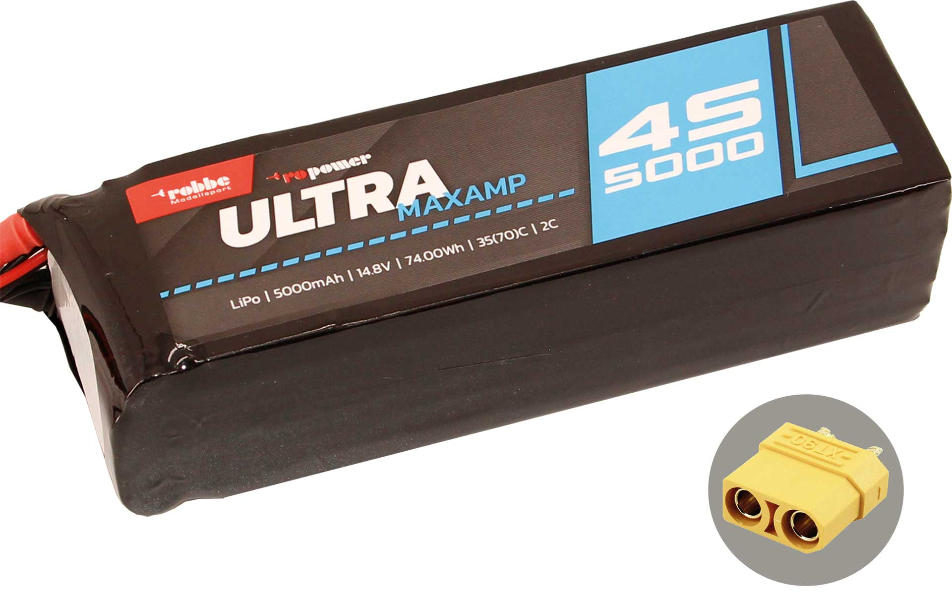 ROBBE RO-POWER ULTRA MAXAMP 5000MAH 14,8 VOLT