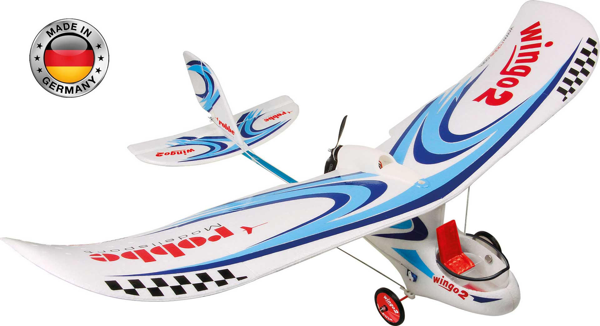 "ROBBE WINGO 2 PNP ""you can fly"" pre-assembled with brushless motor, controller & servo"