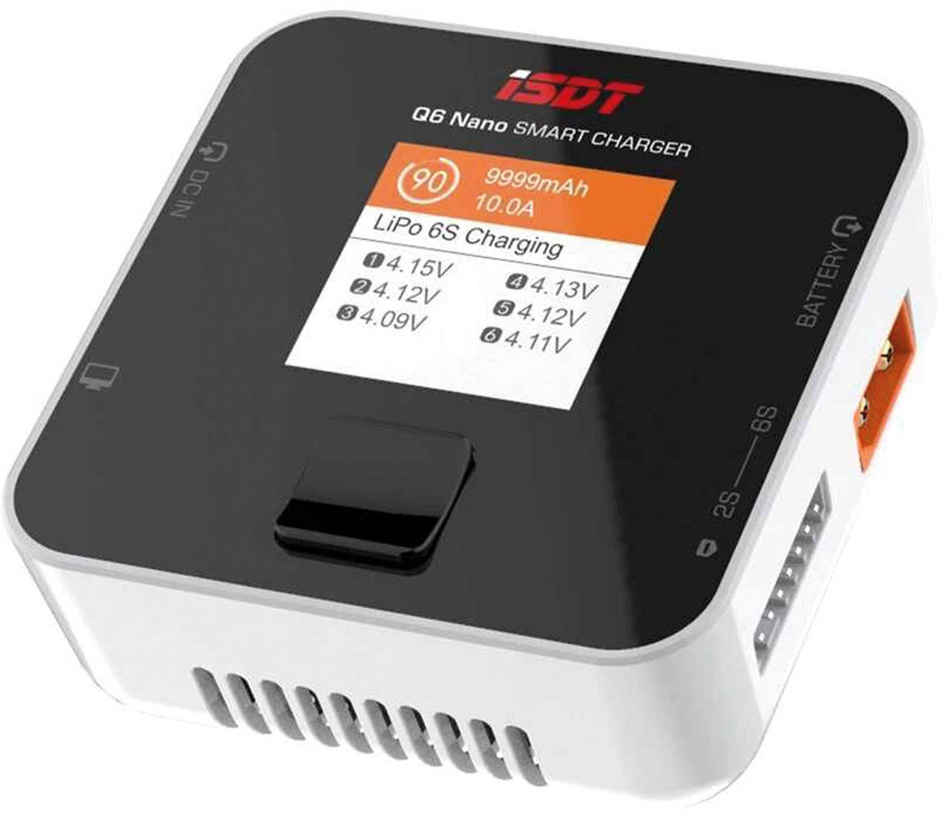 ISDT Q6 NANO SMART CHARGER 200W 1-6S -8A Ladegerät