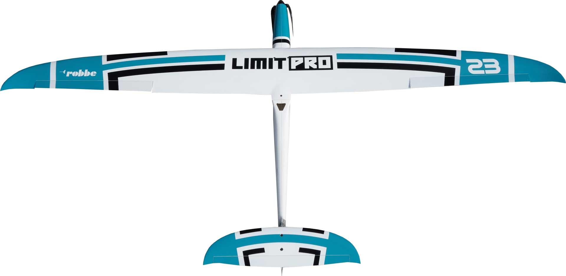Robbe Modellsport Limit Pro PNP PETROL mit eingebauten Servos und Antrieb, Voll-GfK/CfK