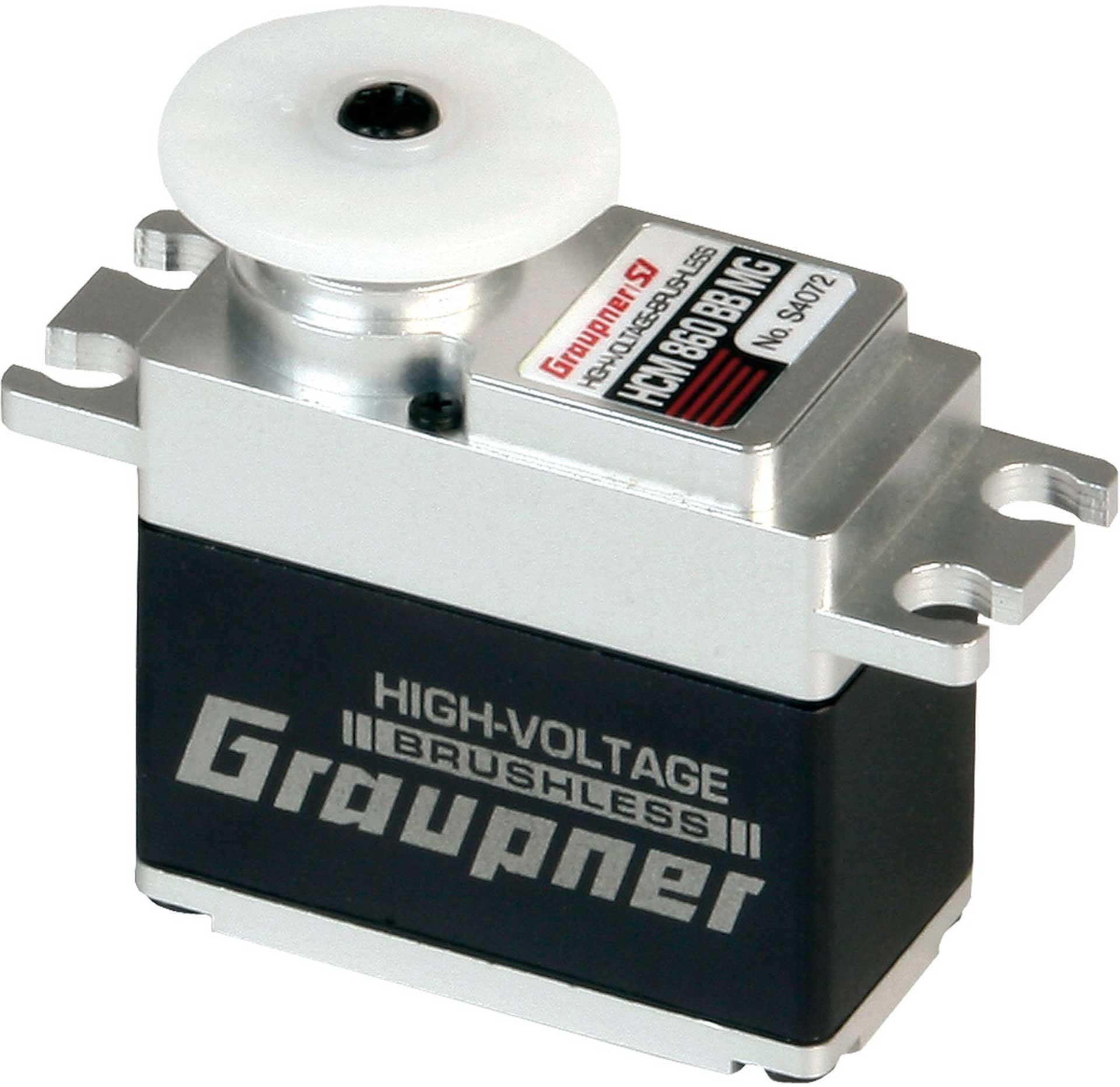 GRAUPNER HCM 860 BB MG DIGI HV CORELESS TORQUE WITH 20MM WIDTH