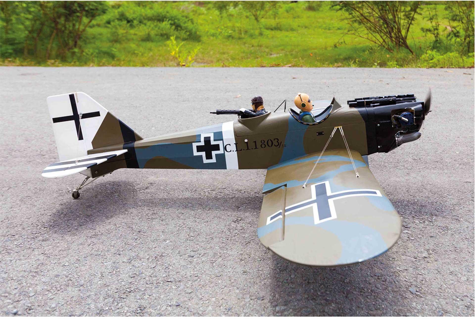 SG-MODELS JUNKERS CL-1 (J 10) WARBIRD ARF