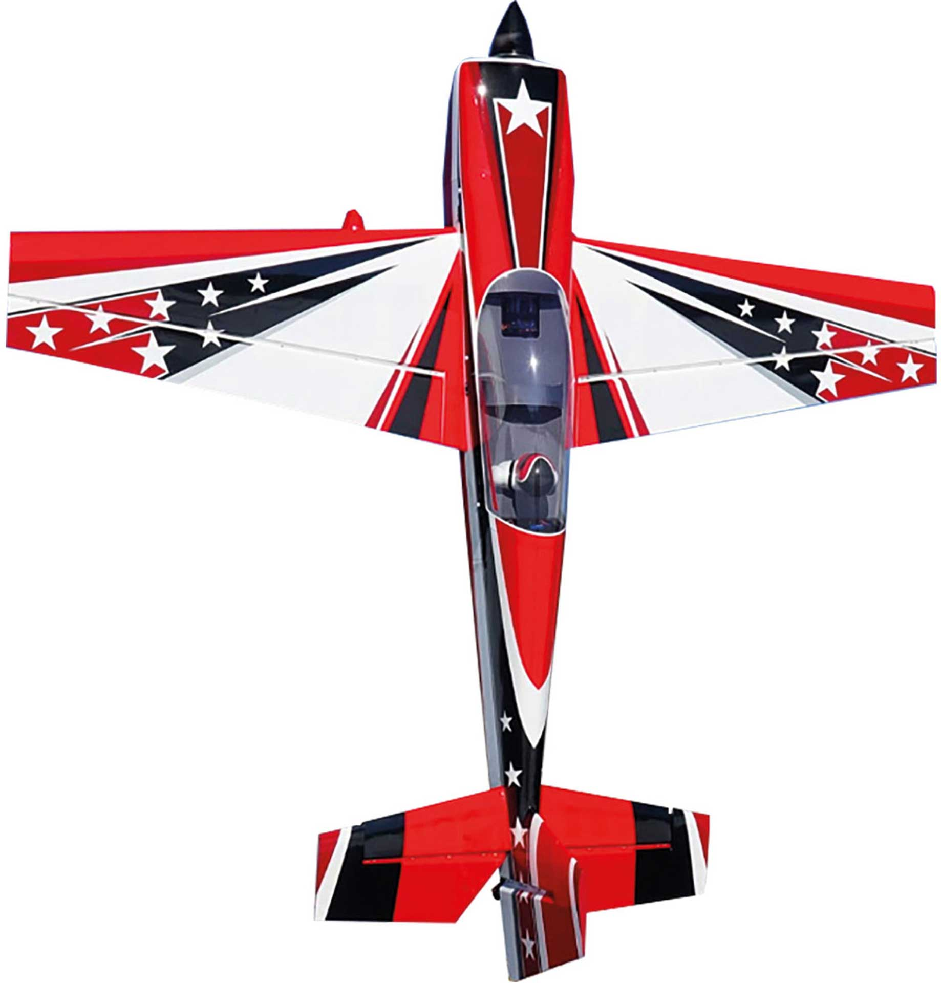 "EXTREMEFLIGHT-RC EXTRA 300 104"" ROT/WEISS ARF"