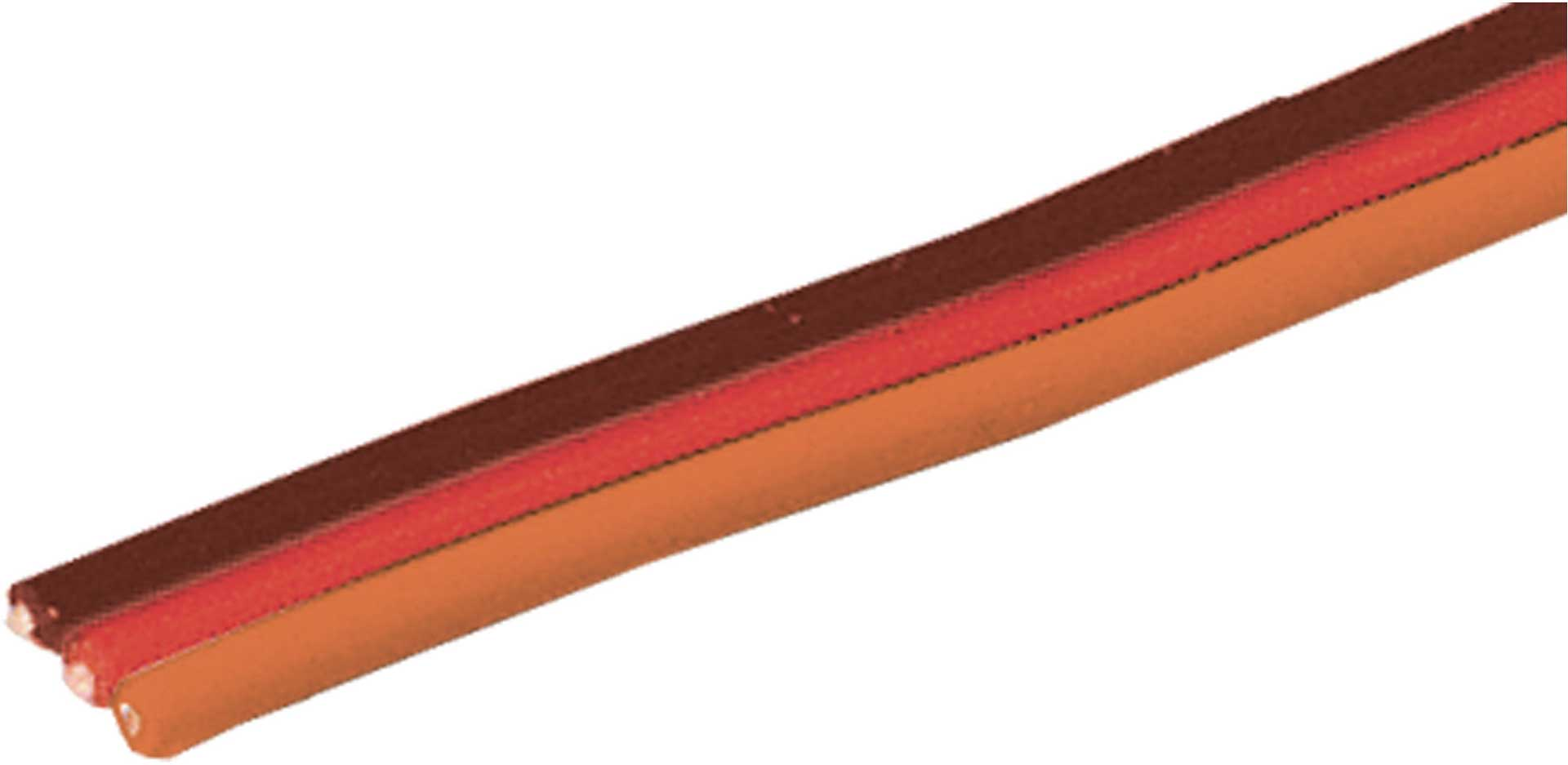 Robbe Modellsport Servokabel Graupner/JR/Uni 100 Meter flach 0,13mm² (26AWG) PVC Meterware
