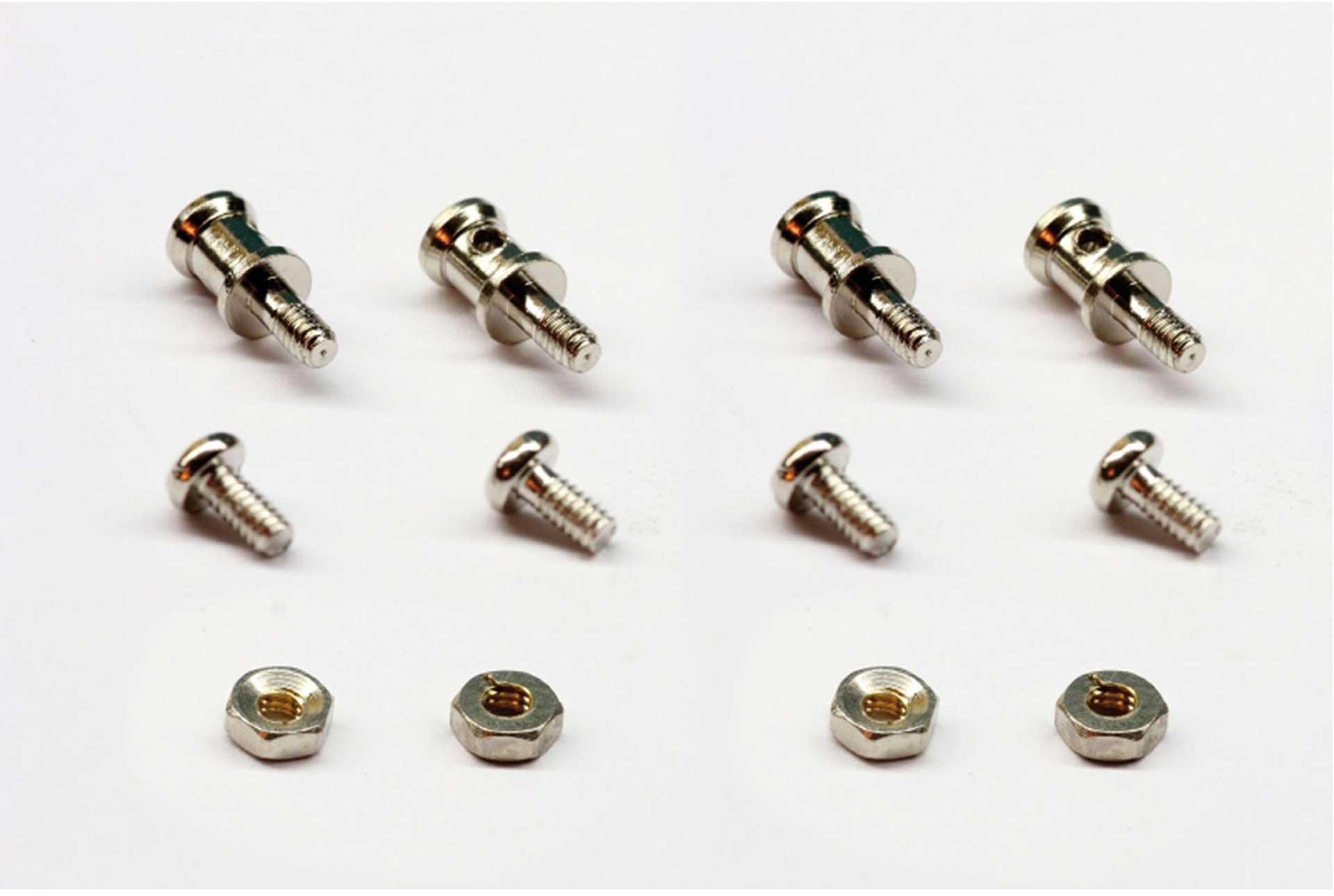 Robbe Modellsport Gestängeanschluss Micro für 1,2mm Gestän ge mit 1,9mm Bolzen, 4x5mm, M2, 4STK.