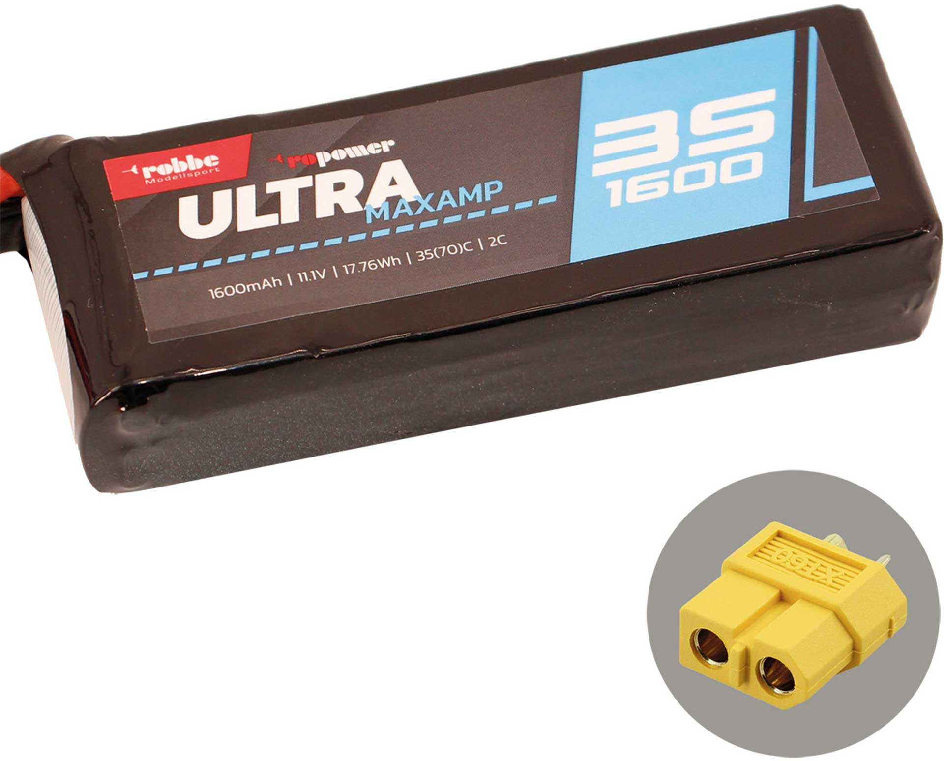 ROBBE RO-POWER ULTRA MAXAMP 1600MAH 11,1 VOLT