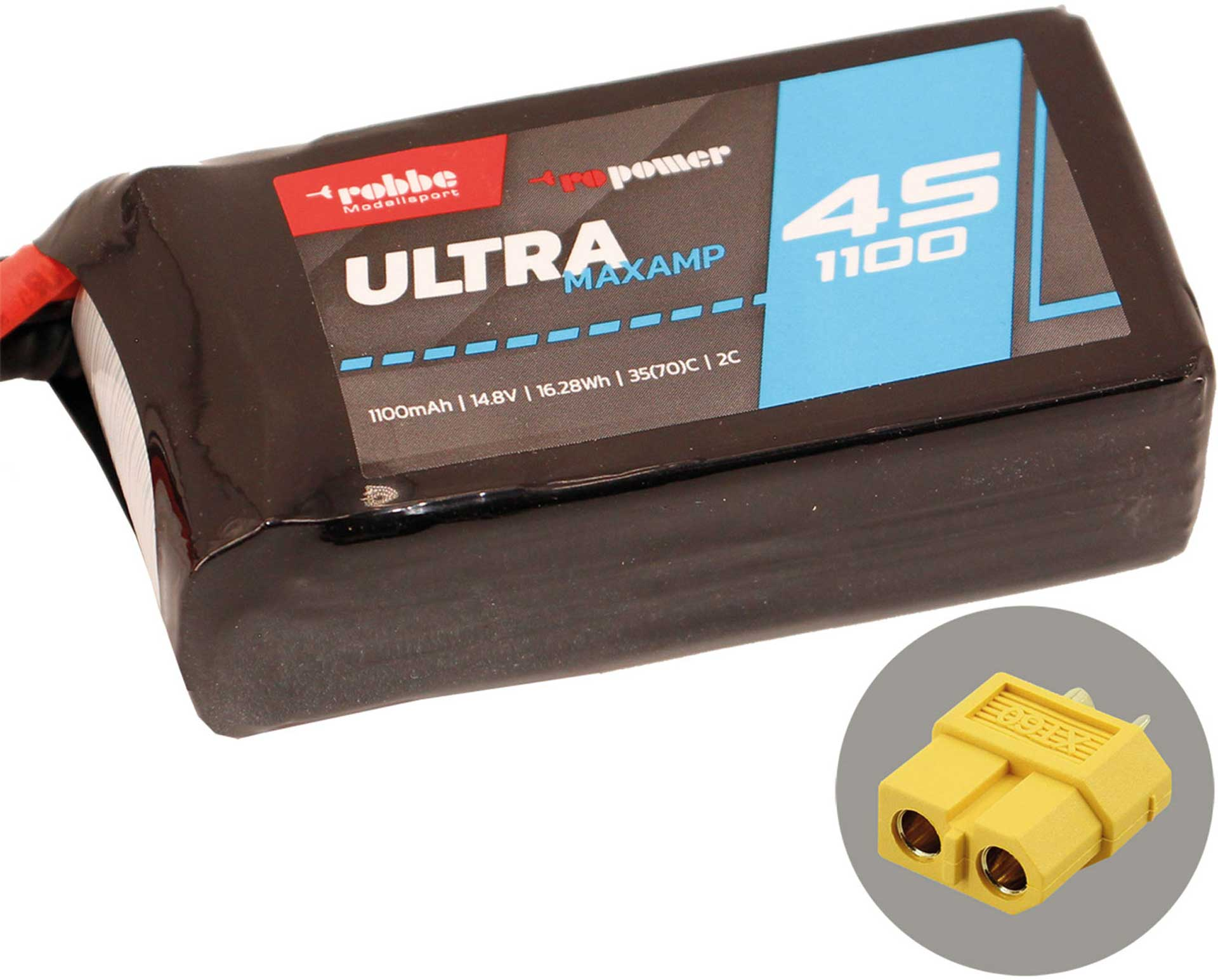 ROBBE RO-POWER ULTRA MAXAMP 1100MAH 14,8 VOLT