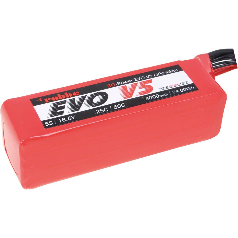 ROBBE RO-POWER EVO V5 25(50)C 18,5 VOLT 5S 4000MAH LIPO BATTERY