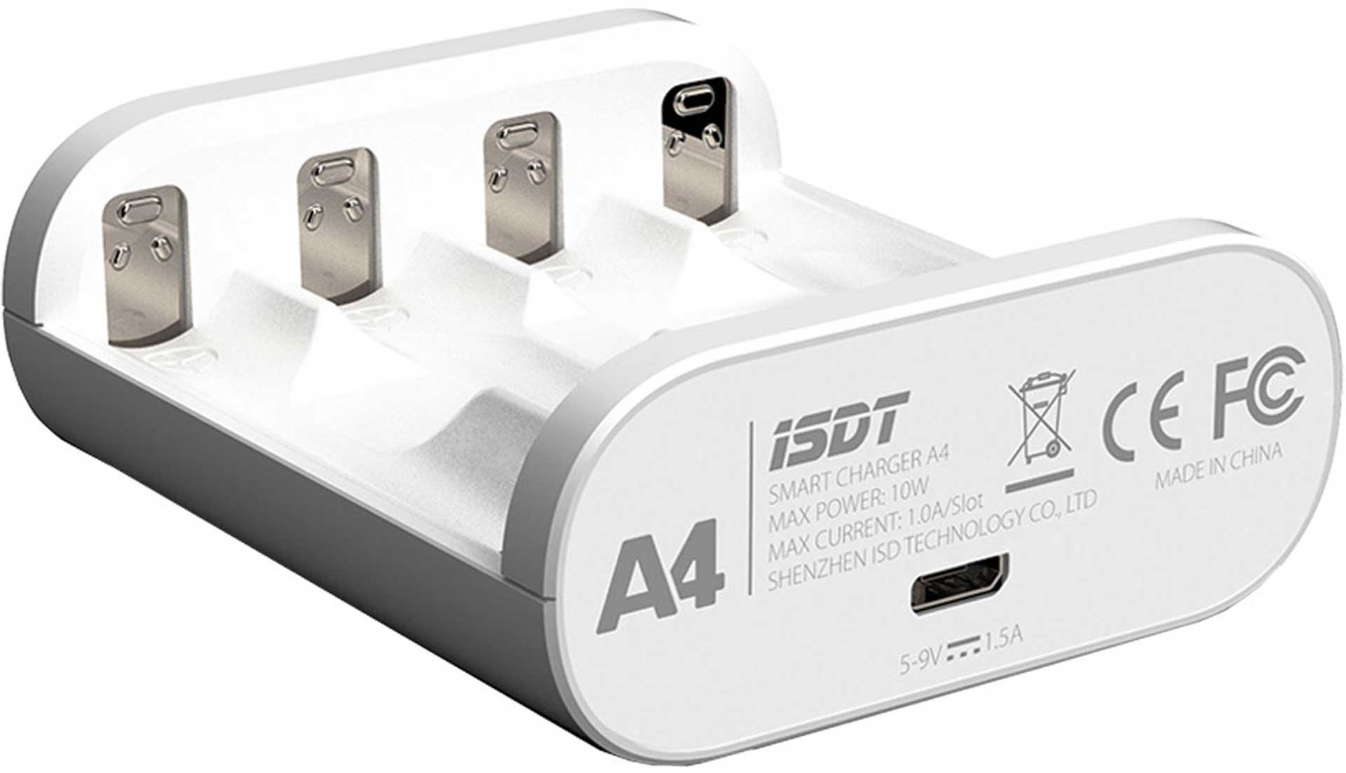 ISDT A4 SMART BATTERY CHARGER