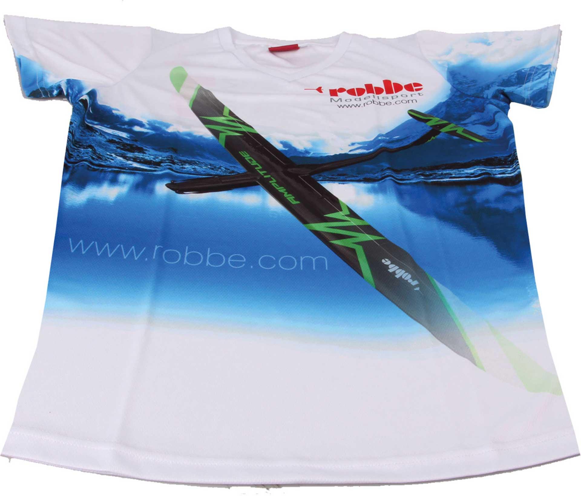 "Robbe Modellsport FUNKTIONS T-SHIRT ""AMPLITUDE"" ROBBE GRÖSSE S"