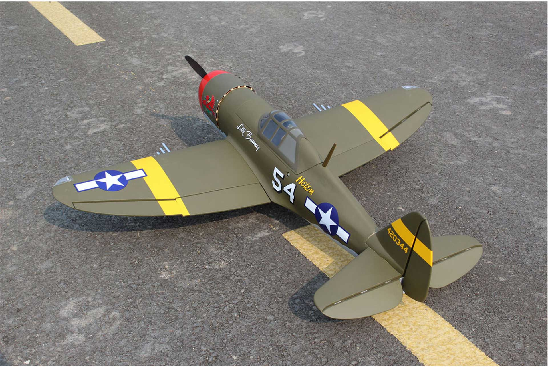"Seagull Models ( SG-Models ) P-47D ""LITTLE BUNNY"" MK II ARF 1,4M"