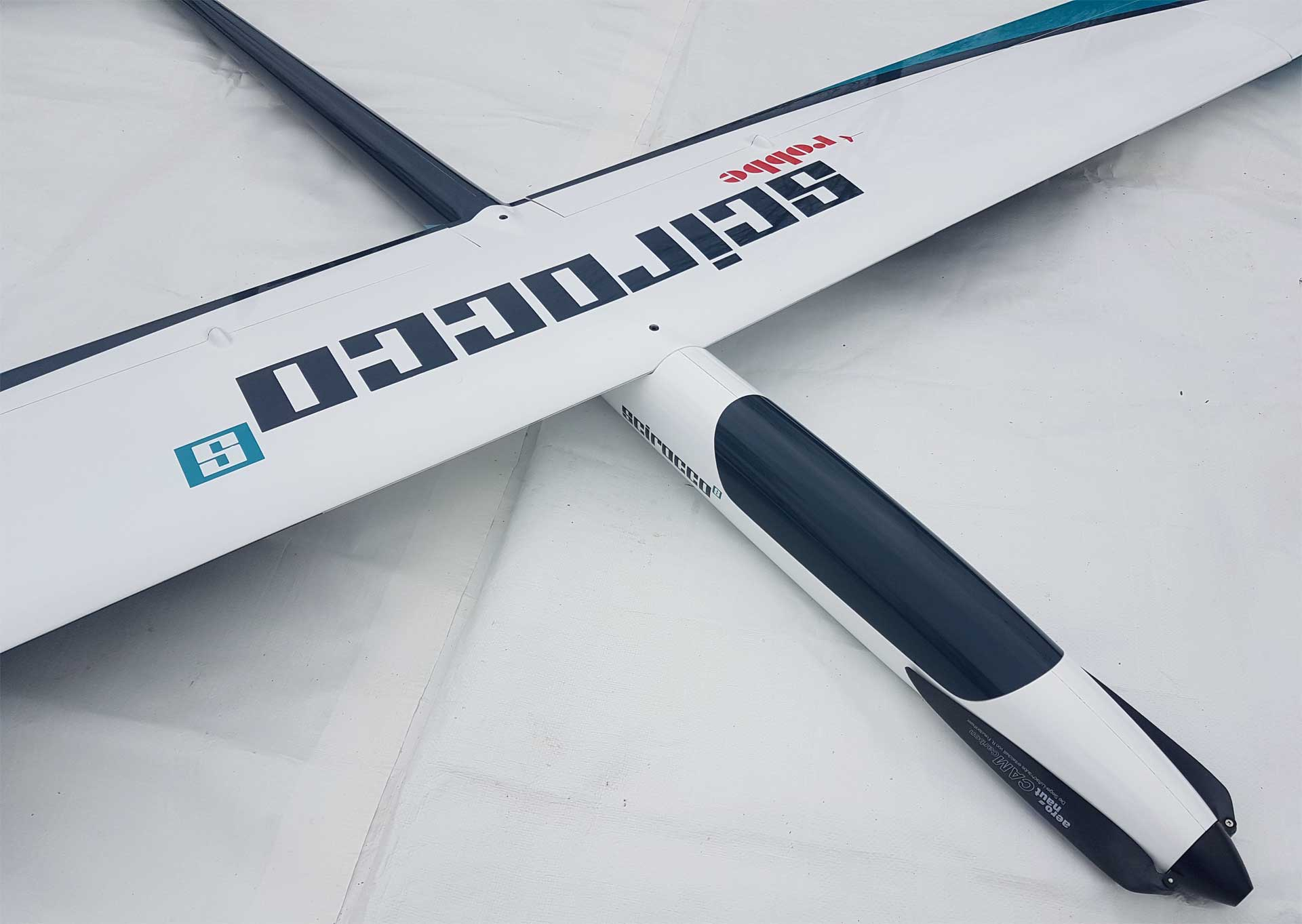 Robbe Modellsport SCIROCCO S 3,75M PNP FULL-GDRP HIGH PERFORMANCE GLIDER WITH 4 FLAP WING