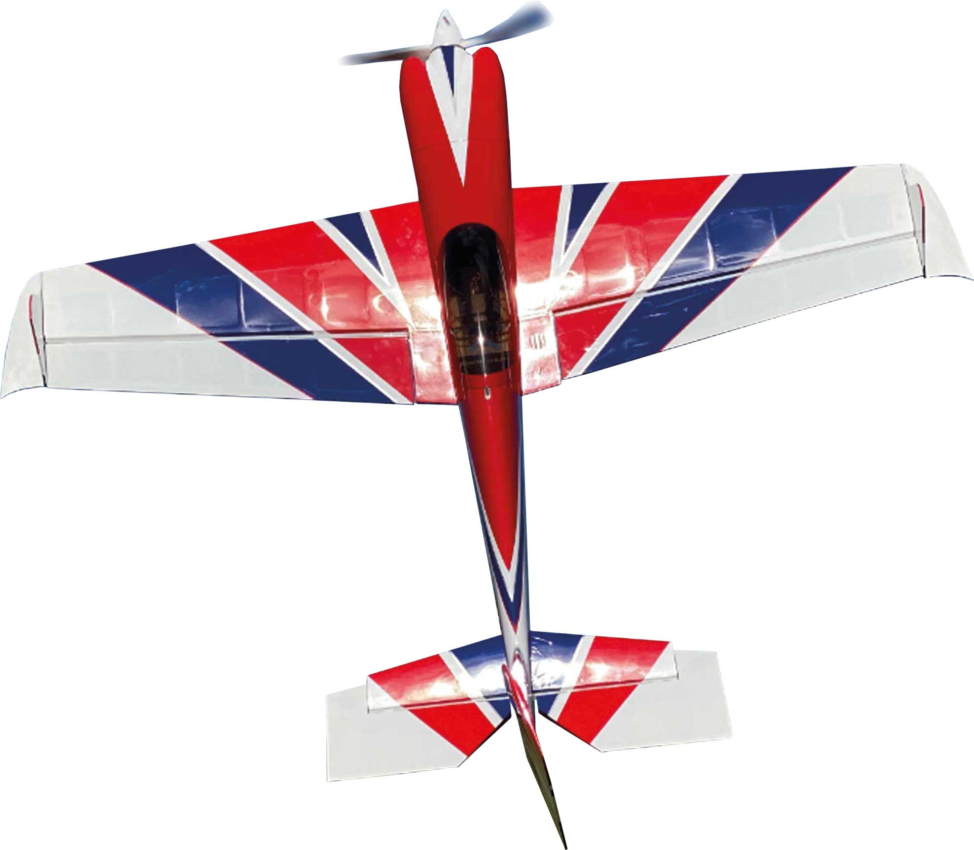 "EXTREMEFLIGHT-RC MXS 64"" PLUS Red/Blue/White ARF"