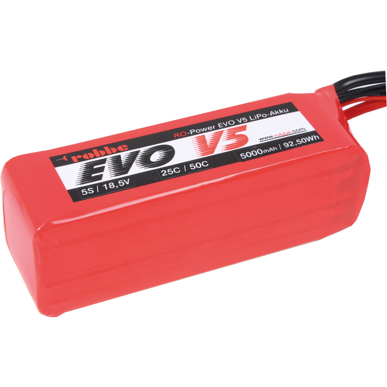 ROBBE RO-POWER EVO V5 25(50)C 18,5 VOLT 5S 5000MAH LIPO AKKU