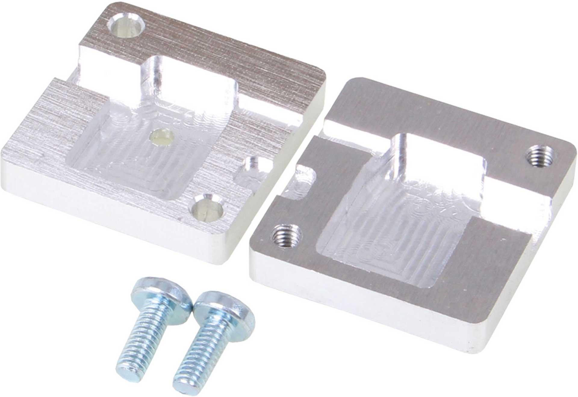 ROBBE CNC MOLD ALU MPX PLUG 6-PIN 90° ANGLED