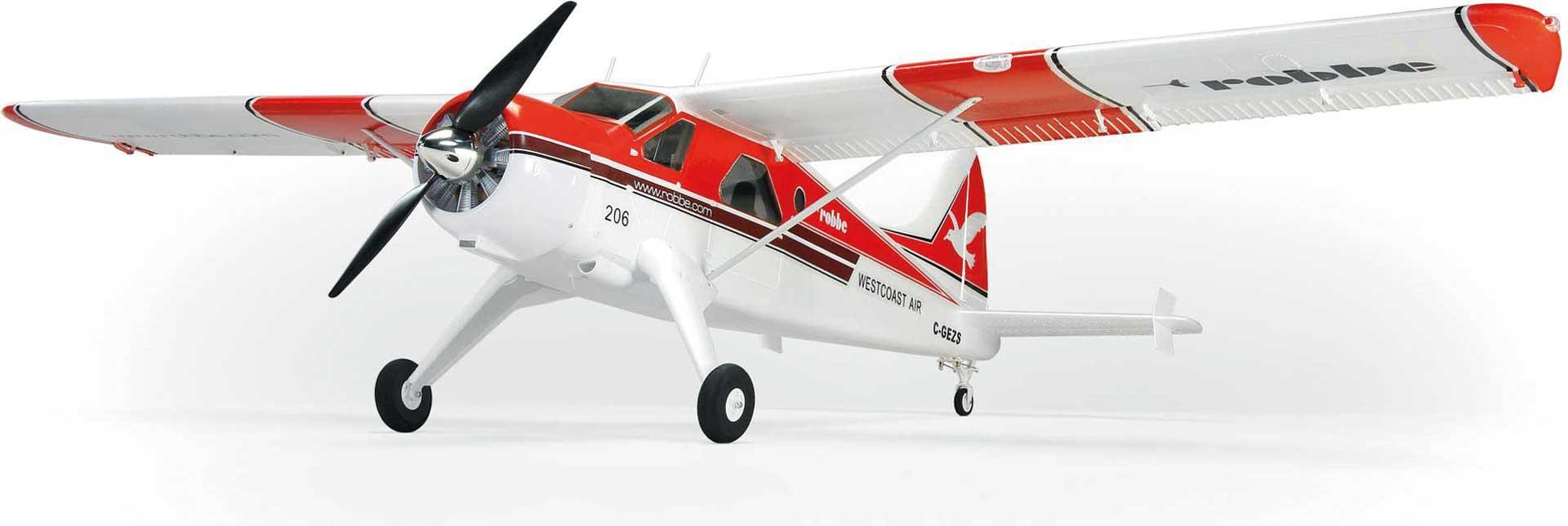 """Robbe Modellsport DHC-2 BEAVER """"AIR BEAVER"""" RED PNP"""