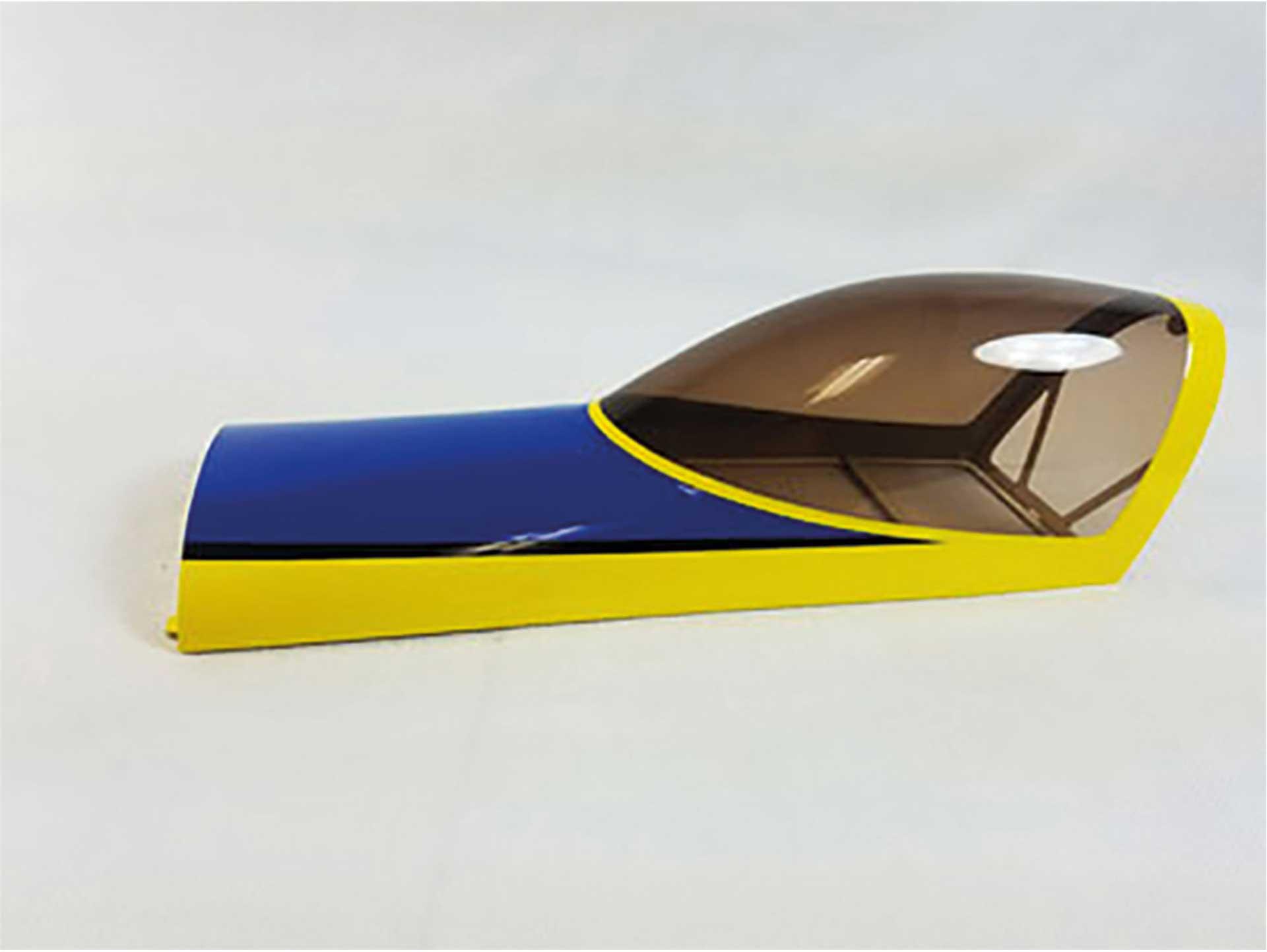 """3D HOBBY SHOP KABINENHAUBE SLICK 580 V2 60"""" GELB/BLAU"""