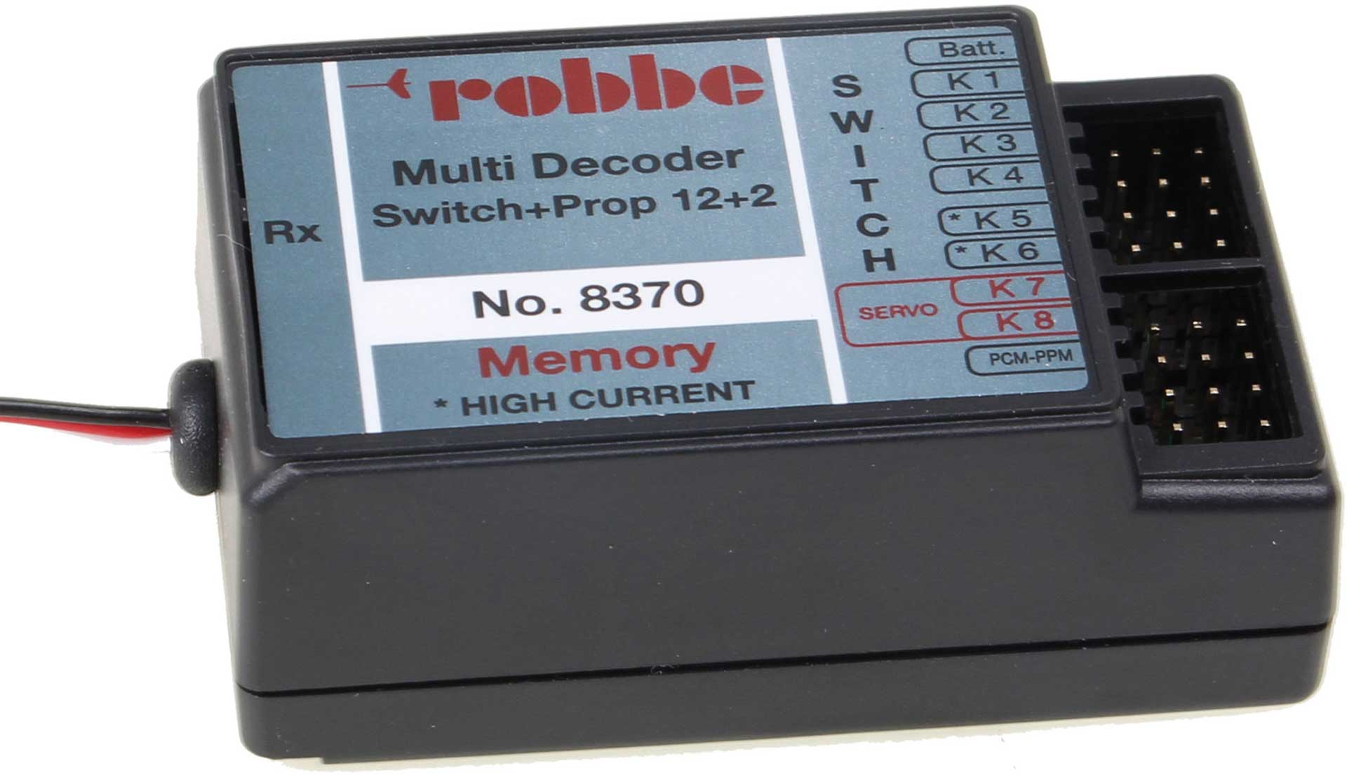 ROBBE MULTI-SWITCH DECODER 12+2 REPLACEMENT FOR  #8102
