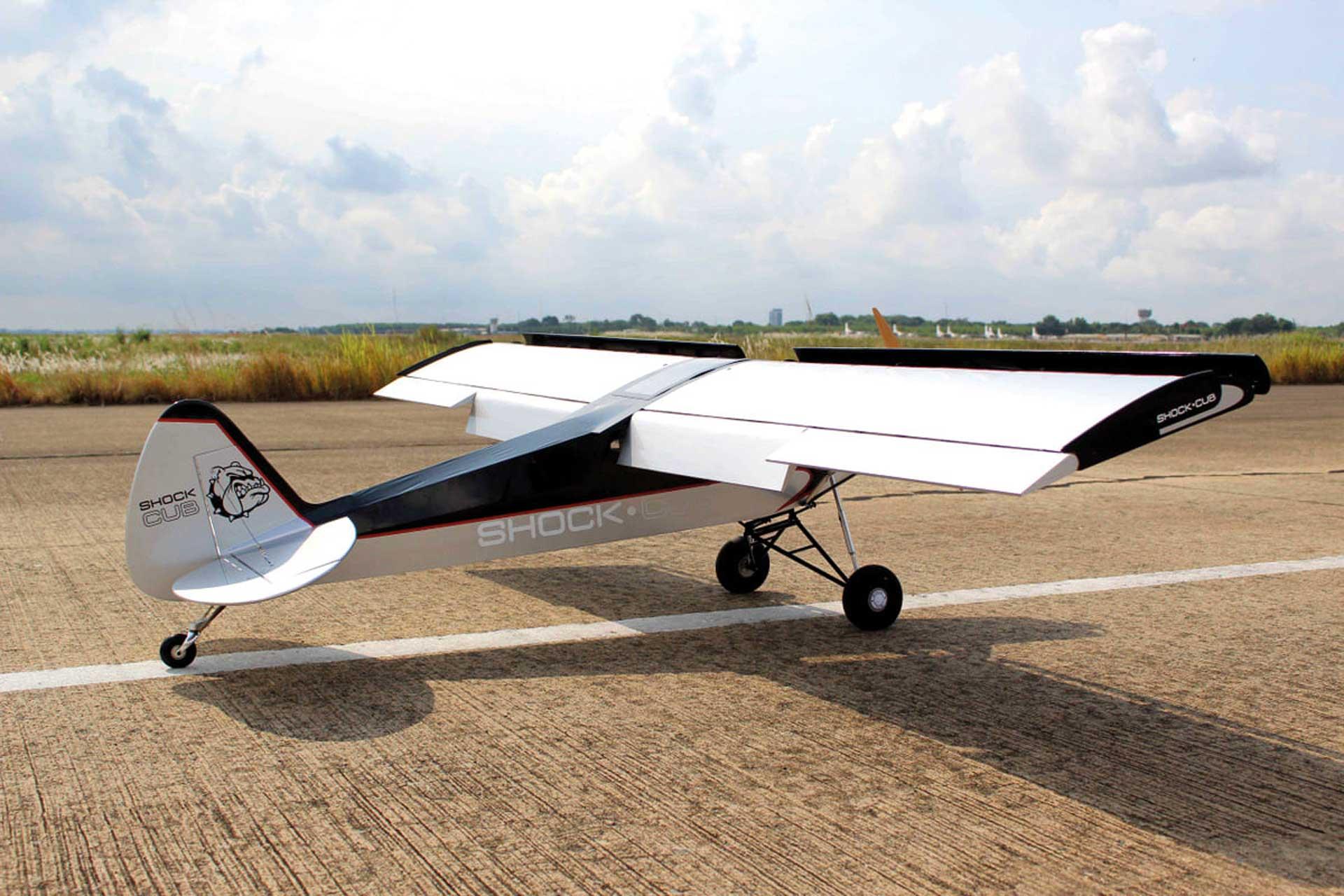 "Seagull Models ( SG-Models ) Shock Cub 38-50cc-102"" Silber"