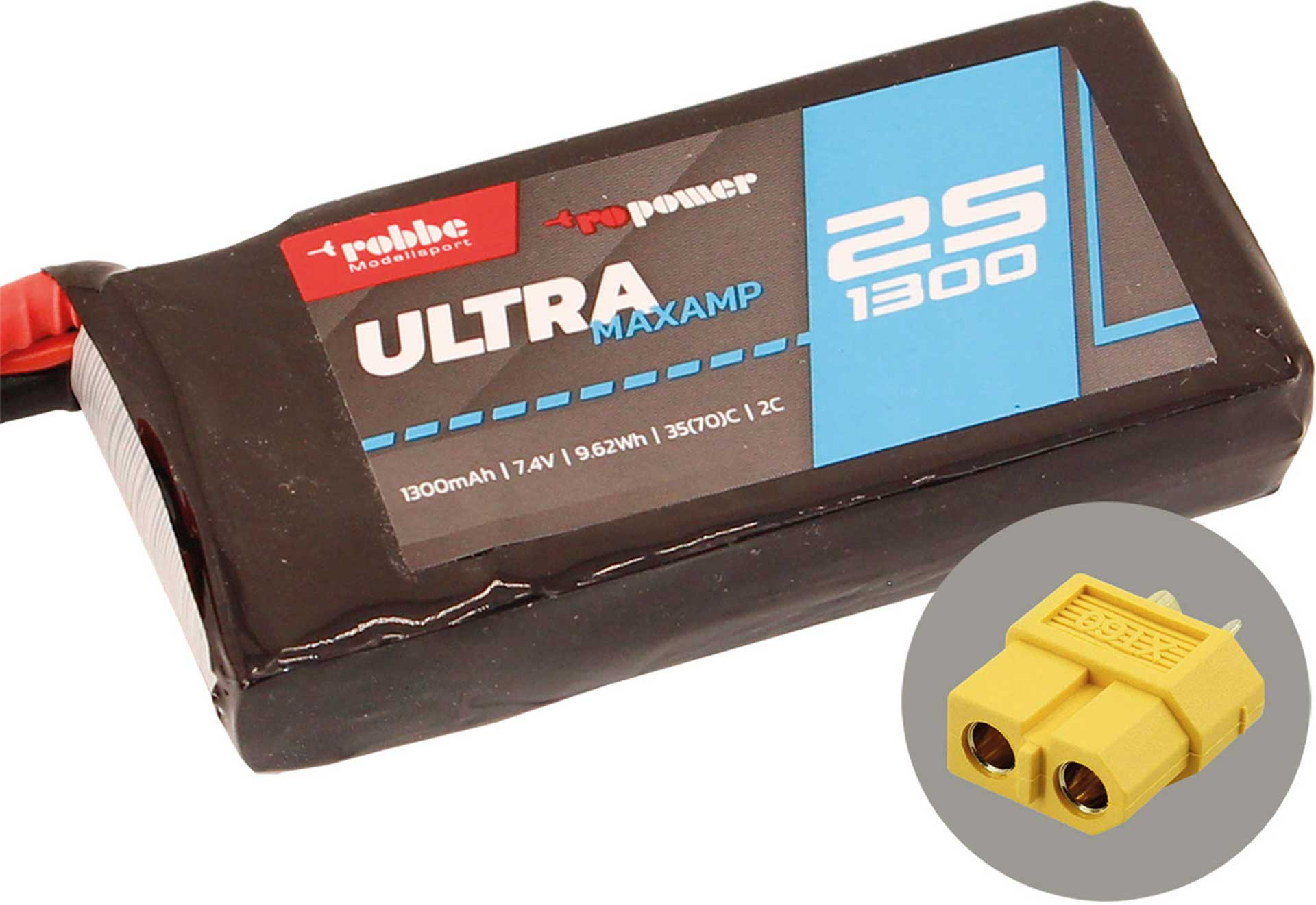 ROBBE RO-POWER ULTRA MAXAMP 1300MAH 7,4 VOLT
