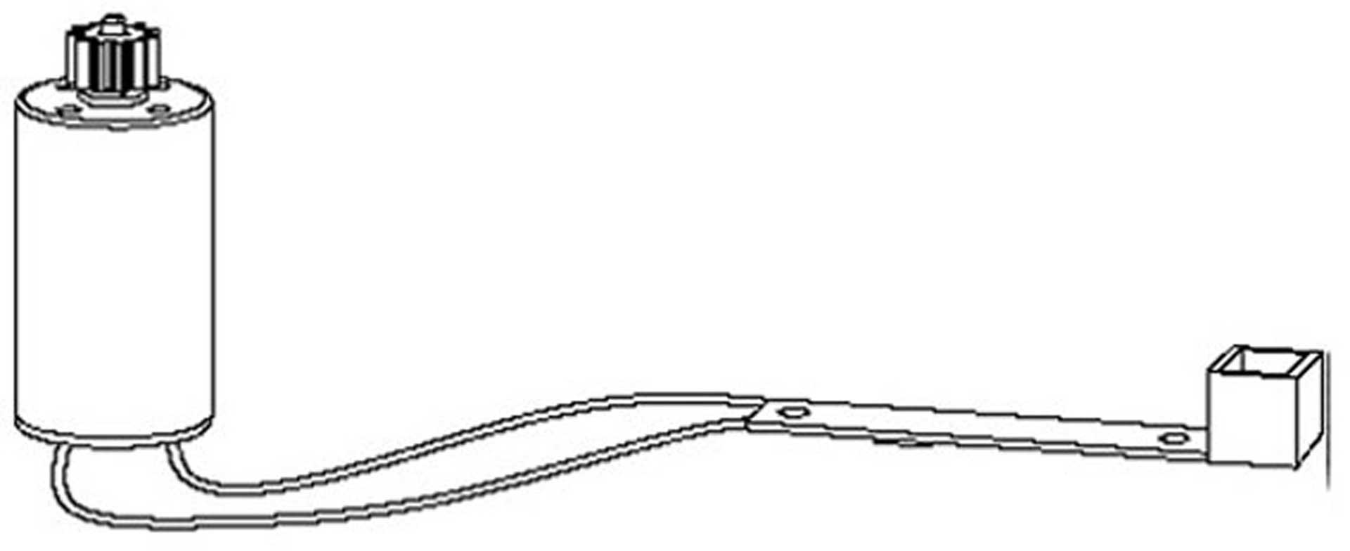 NINE EAGLES MOTOR HINTEN LINKS GALAXY VISITOR 3