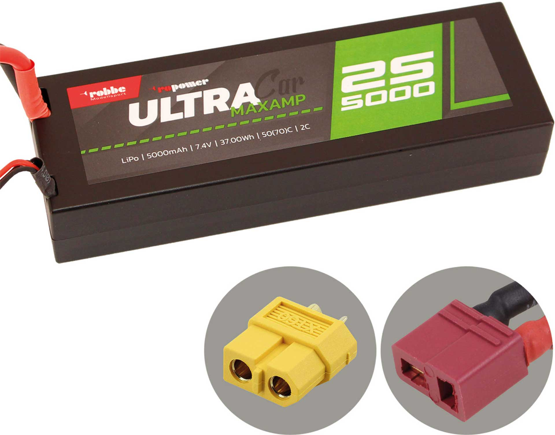 ROBBE RO-POWER ULTRA MAXAMP CAR 5000MAH 7,4