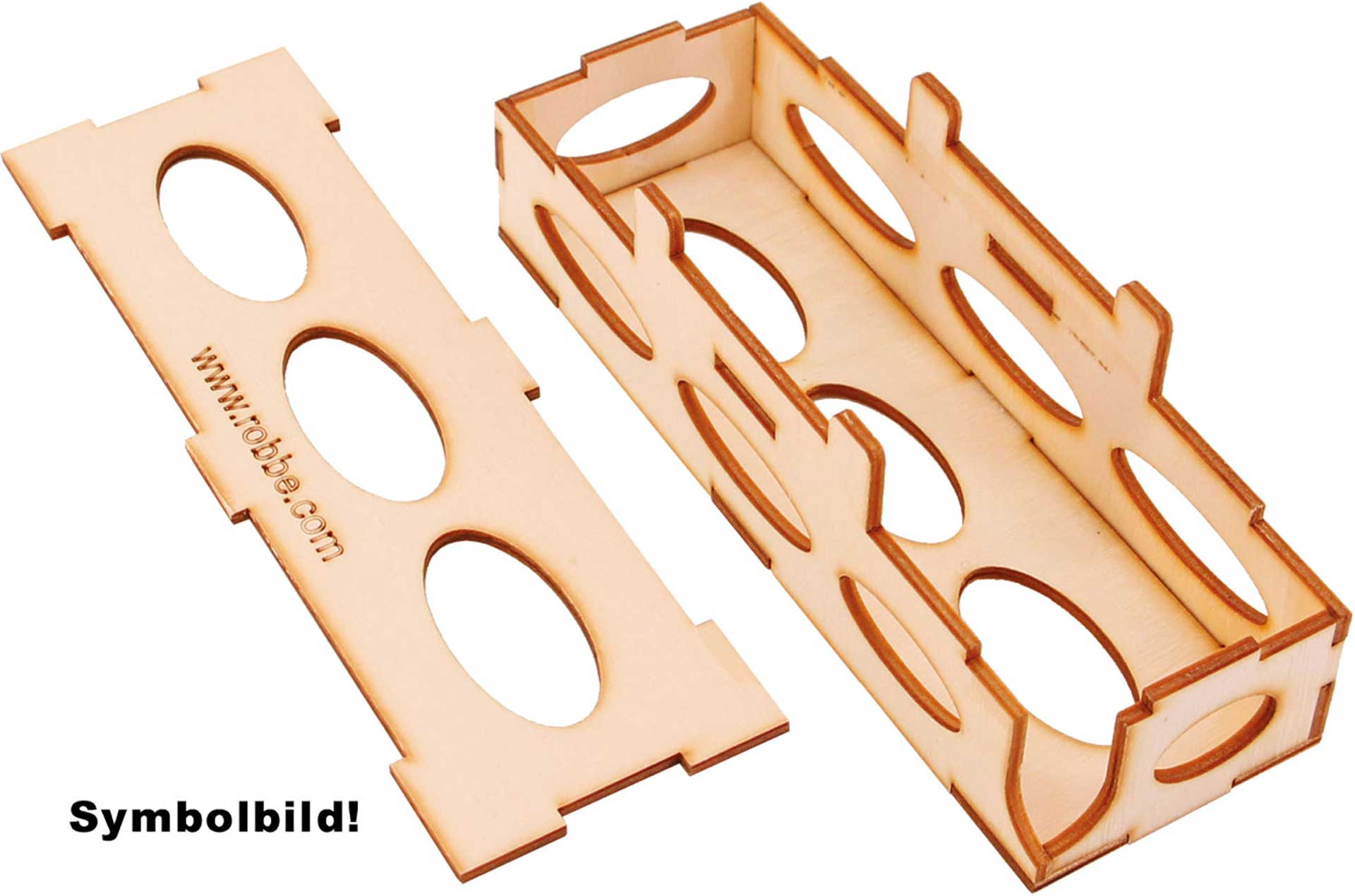 ROBBE BATTERY BOX CNC SIZE XXL
